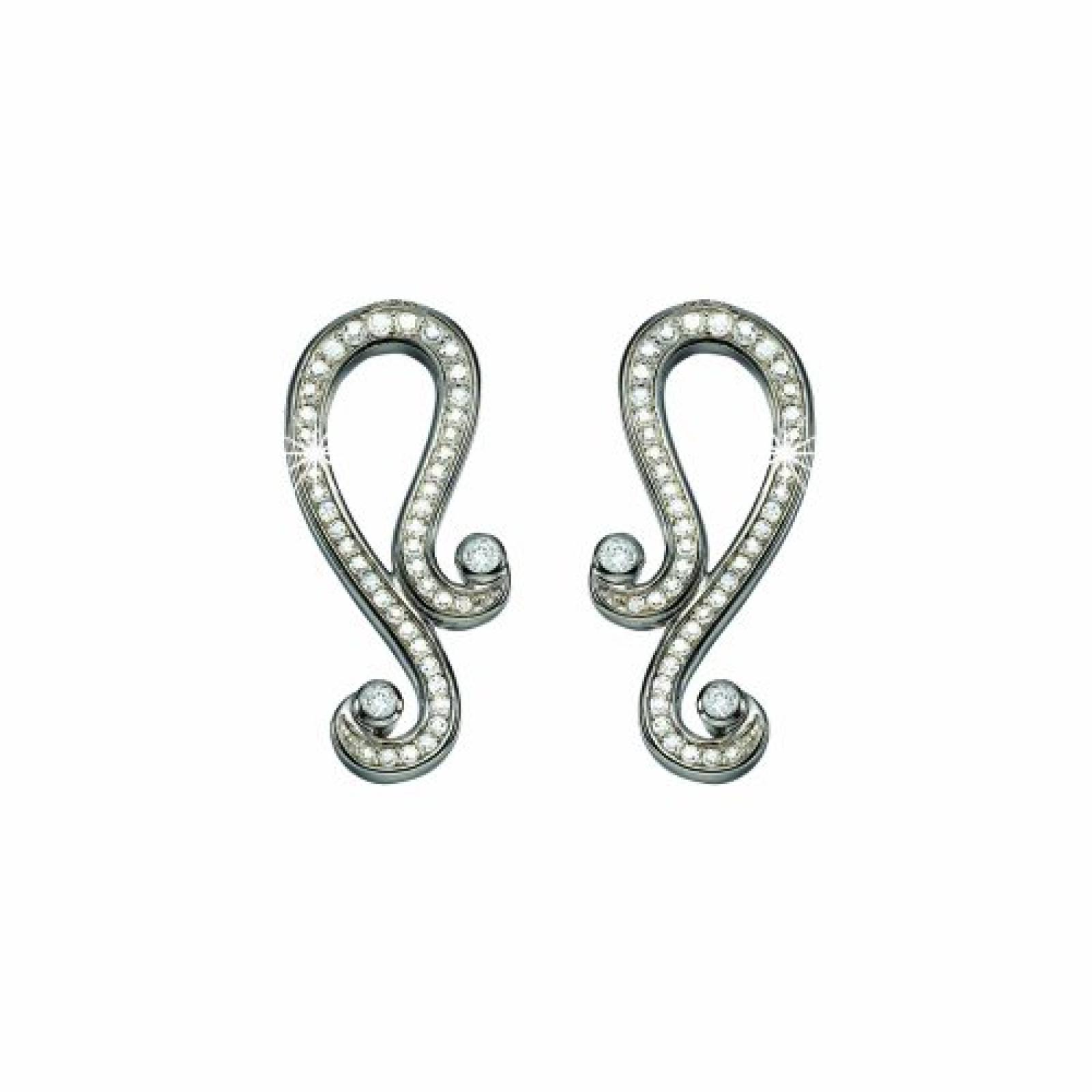Pierre Cardin Damen-Ohrringe 925/ooo Sterlingsilber Charme Antique PCER-90168.A