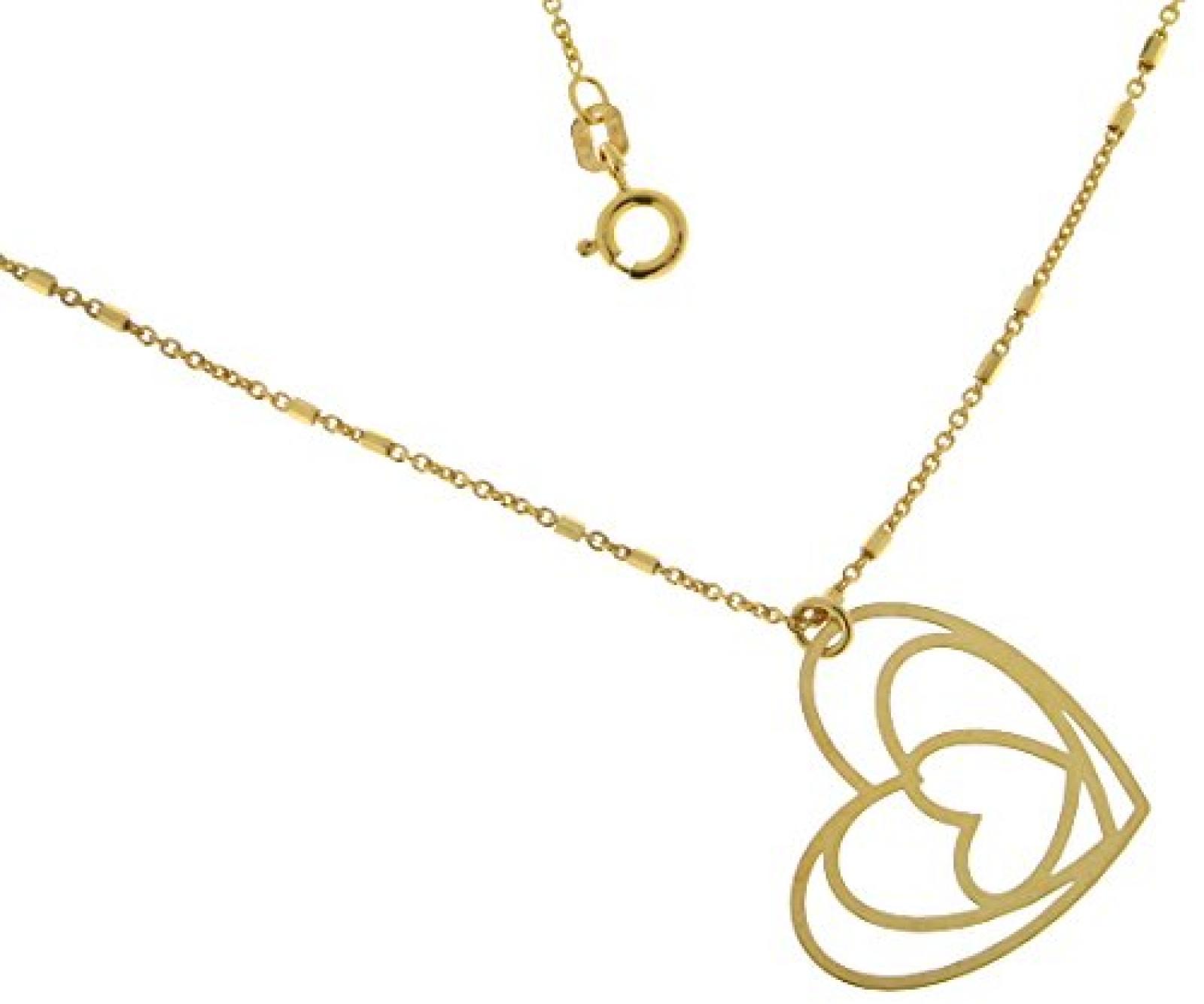 Kettenworld Damen Halskette 925 Sterling Silber 325611