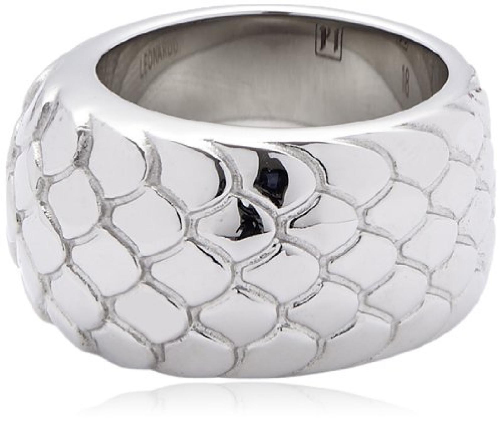 Leonardo Jewels Damen-Ring Edelstahl 21 Snake P1 Gr. 66 (21.0) 15112