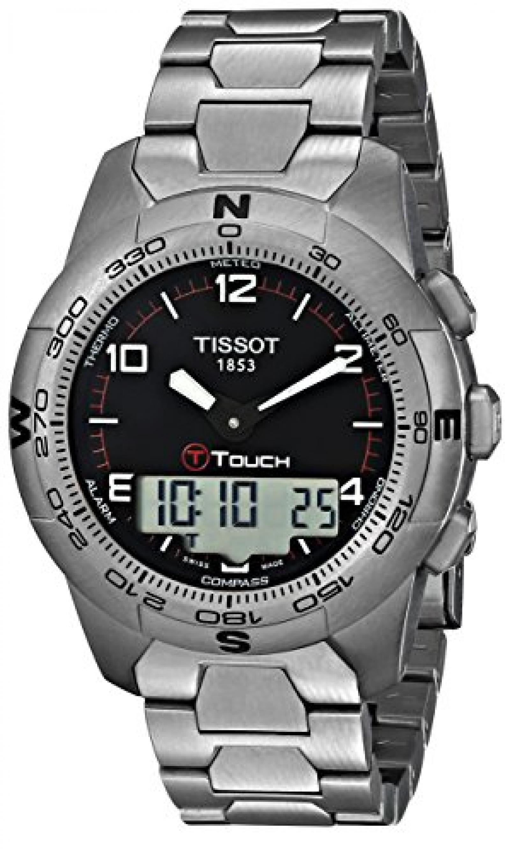 Tissot Herren-Armbanduhr T-Touch II Edelstahl T0474204405700