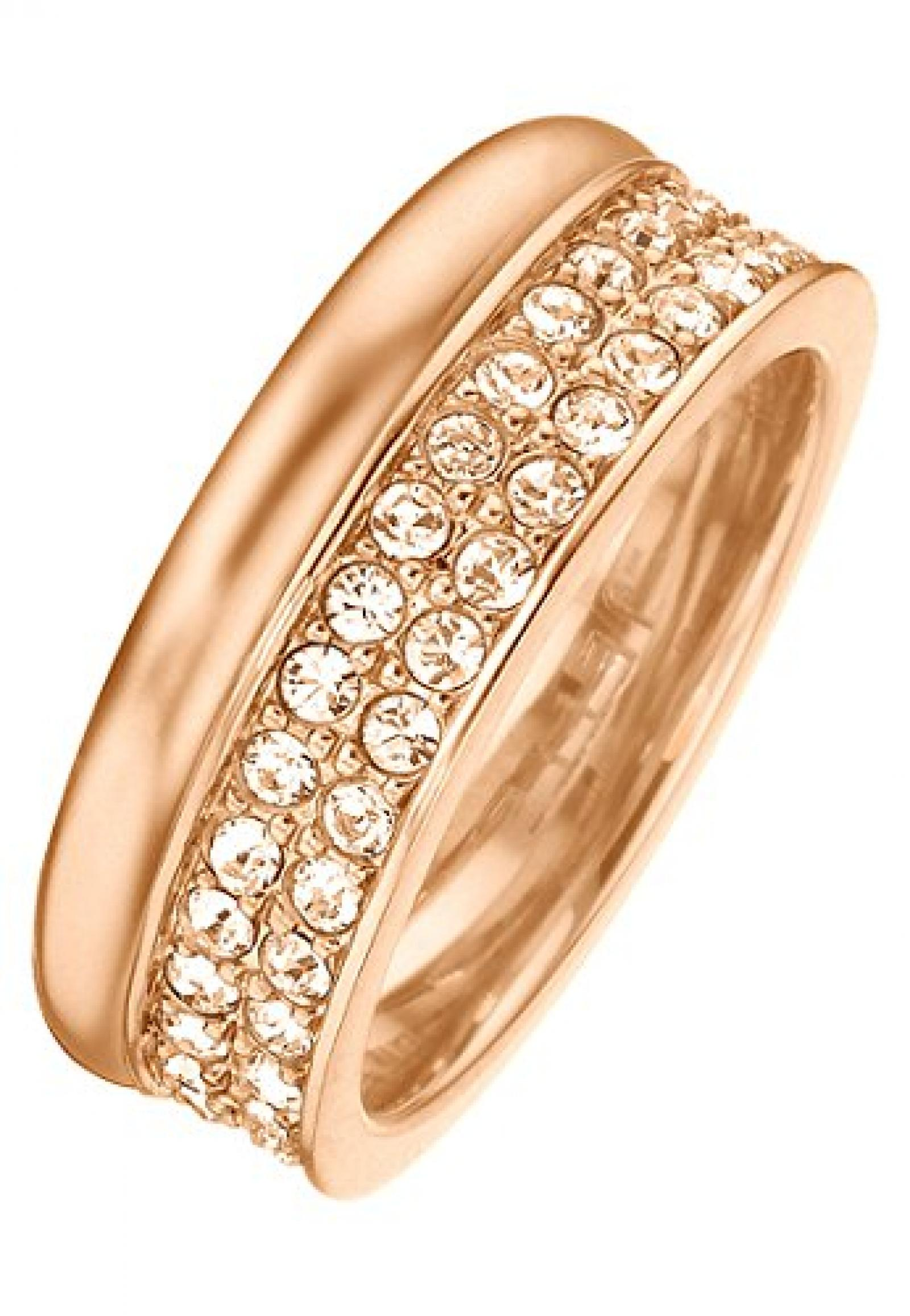 JETTE Magic Passion Damen-Ring Jette Silber Metall 70 Kristall (rosé)