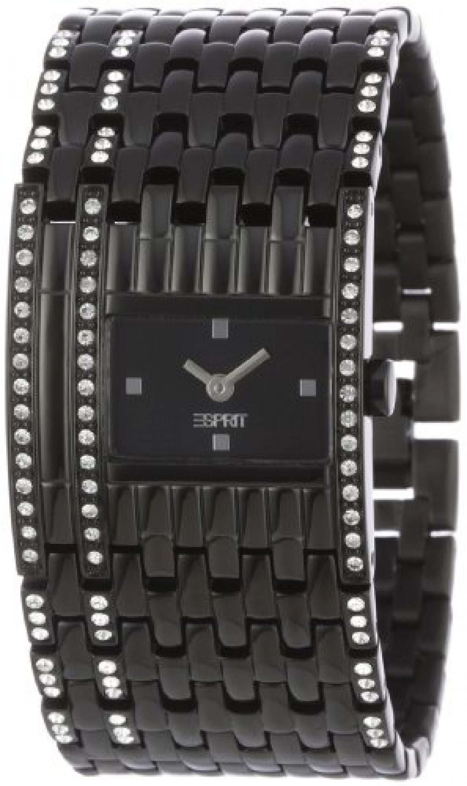 Esprit Damen-Armbanduhr reticolo Analog Quarz ES103922003