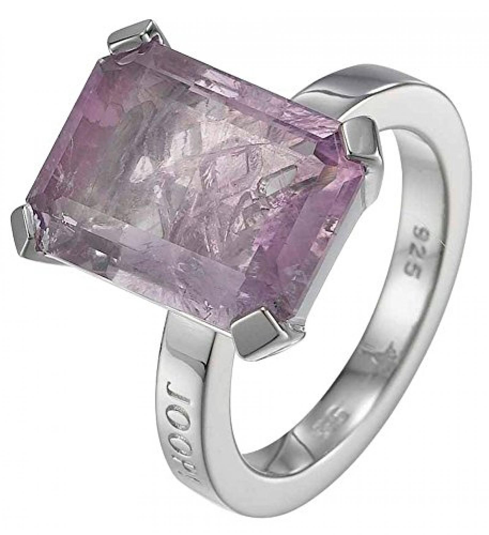 Joop Damen-Ring 925 Sterling Silber rhodiniert Amethyst Mia pink JPRG90496B6