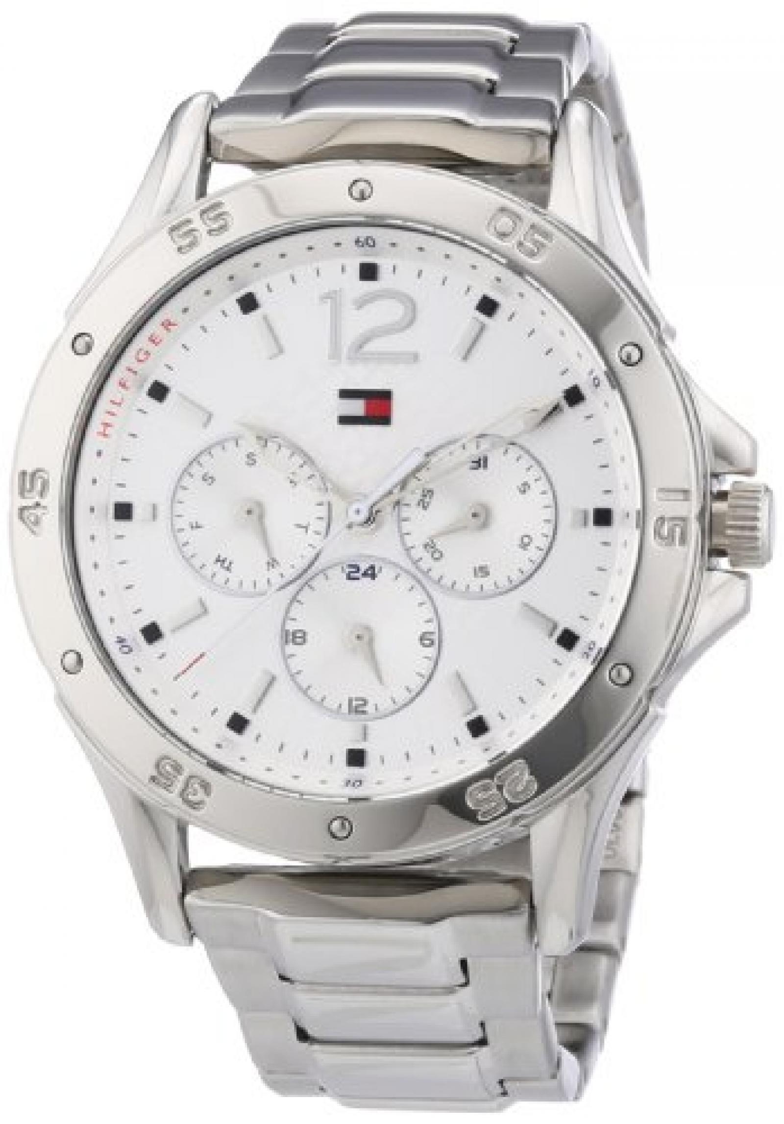 Tommy Hilfiger Damen-Armbanduhr Sport Luxery Analog Quarz Edelstahl 1781304