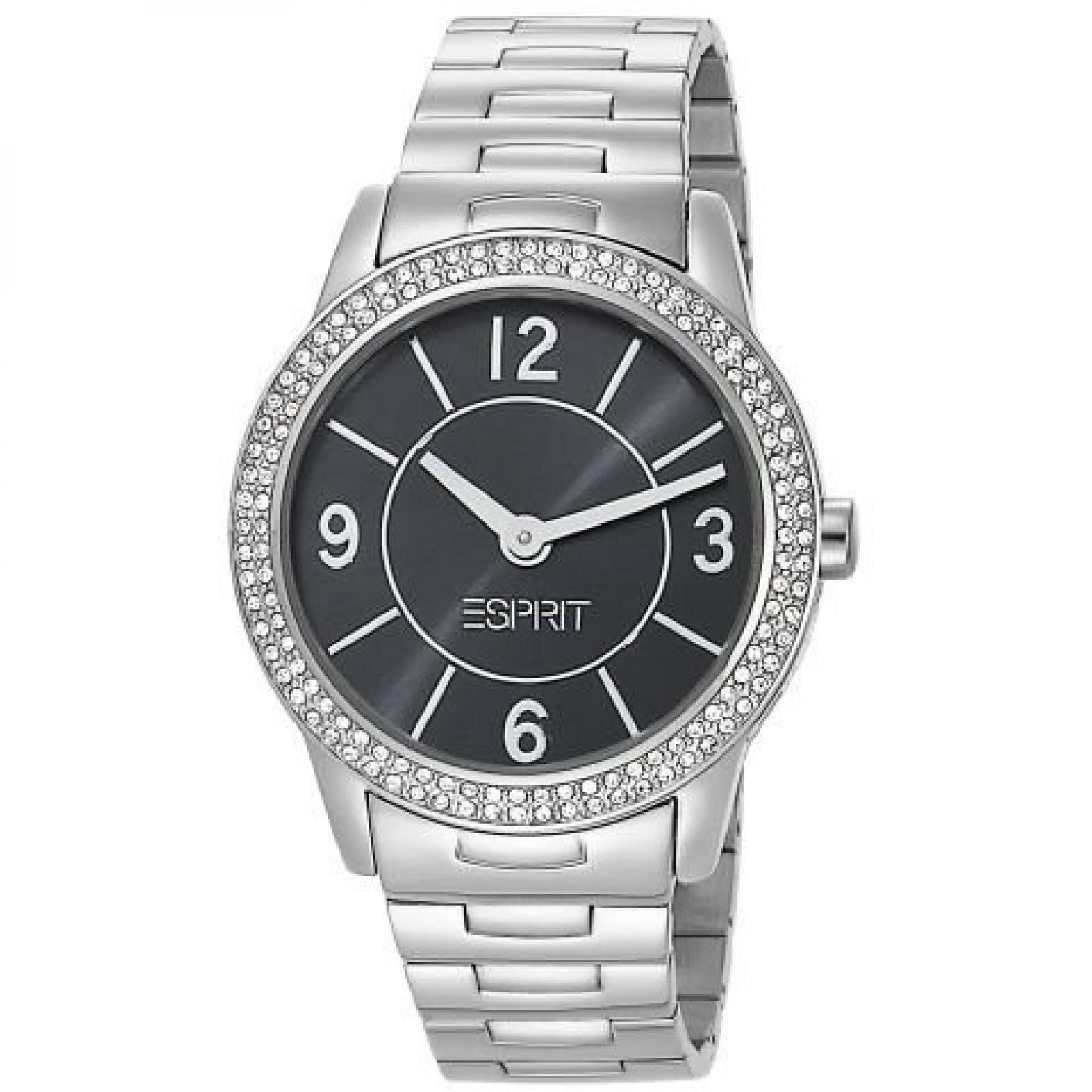 Esprit Damen-Armbanduhr heron Analog Edelstahl A.ES104352004