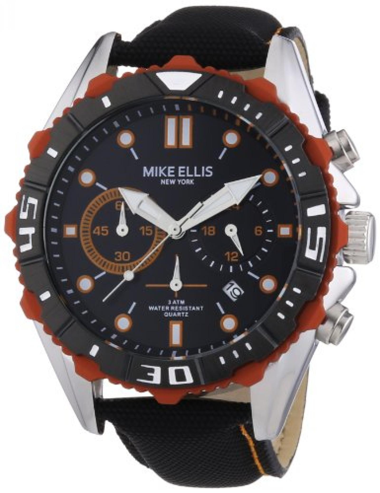 Mike Ellis New York Herren-Armbanduhr XL Chronograph Quarz 17988/2