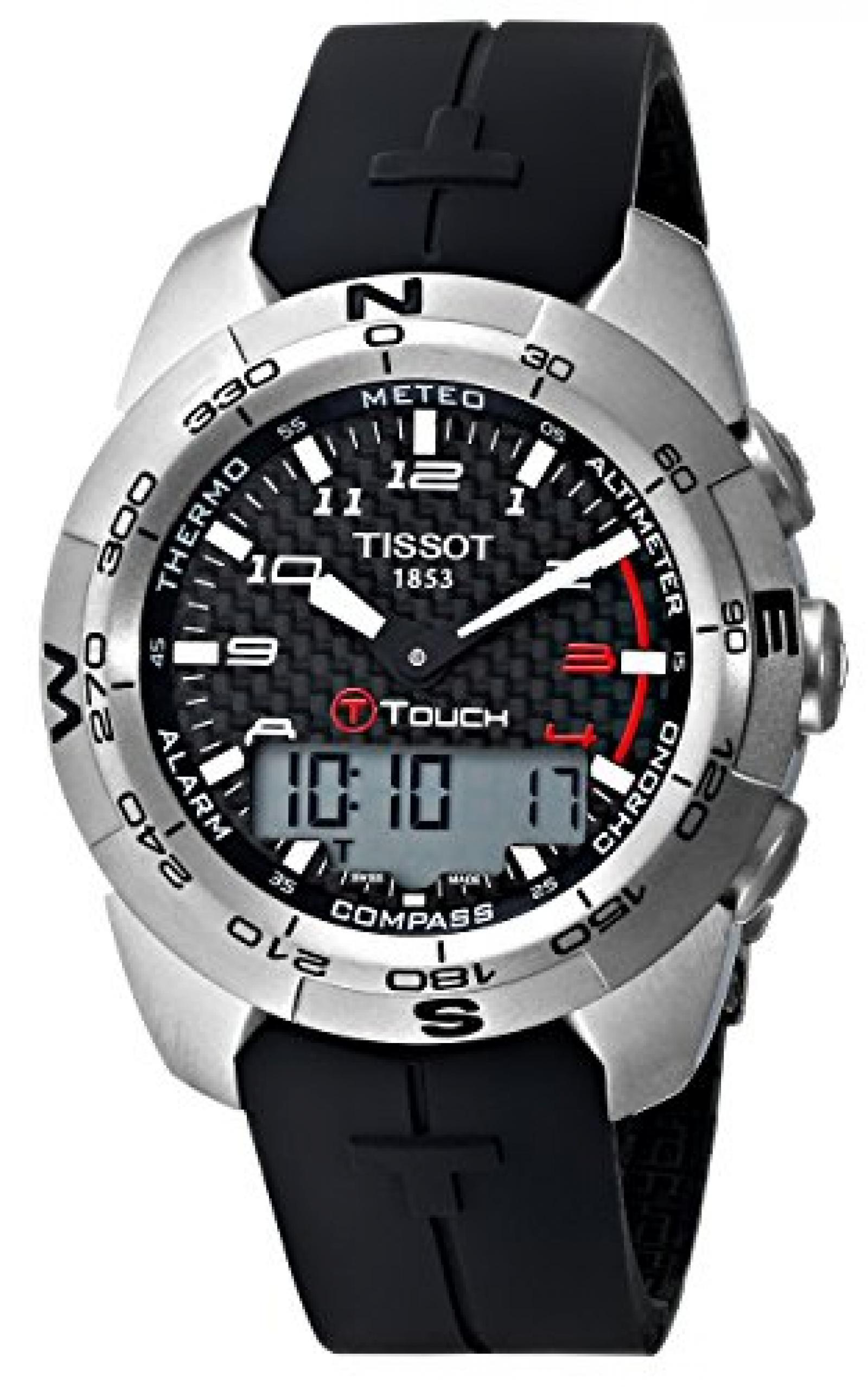 TISSOT Herrenuhr T-TOUCH EXPERT T0134204720200