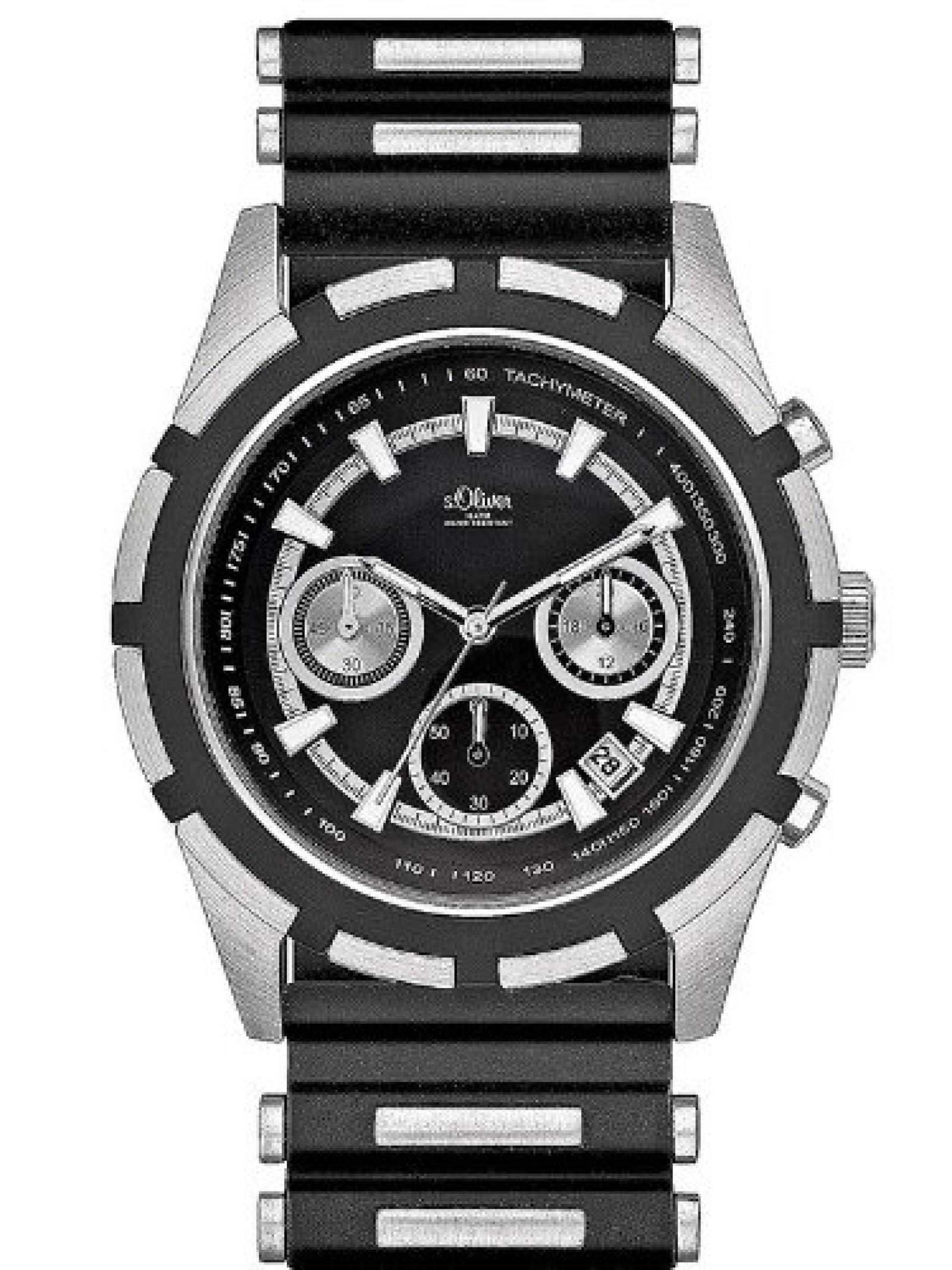 s.Oliver Herren-Armbanduhr SO-435-PC