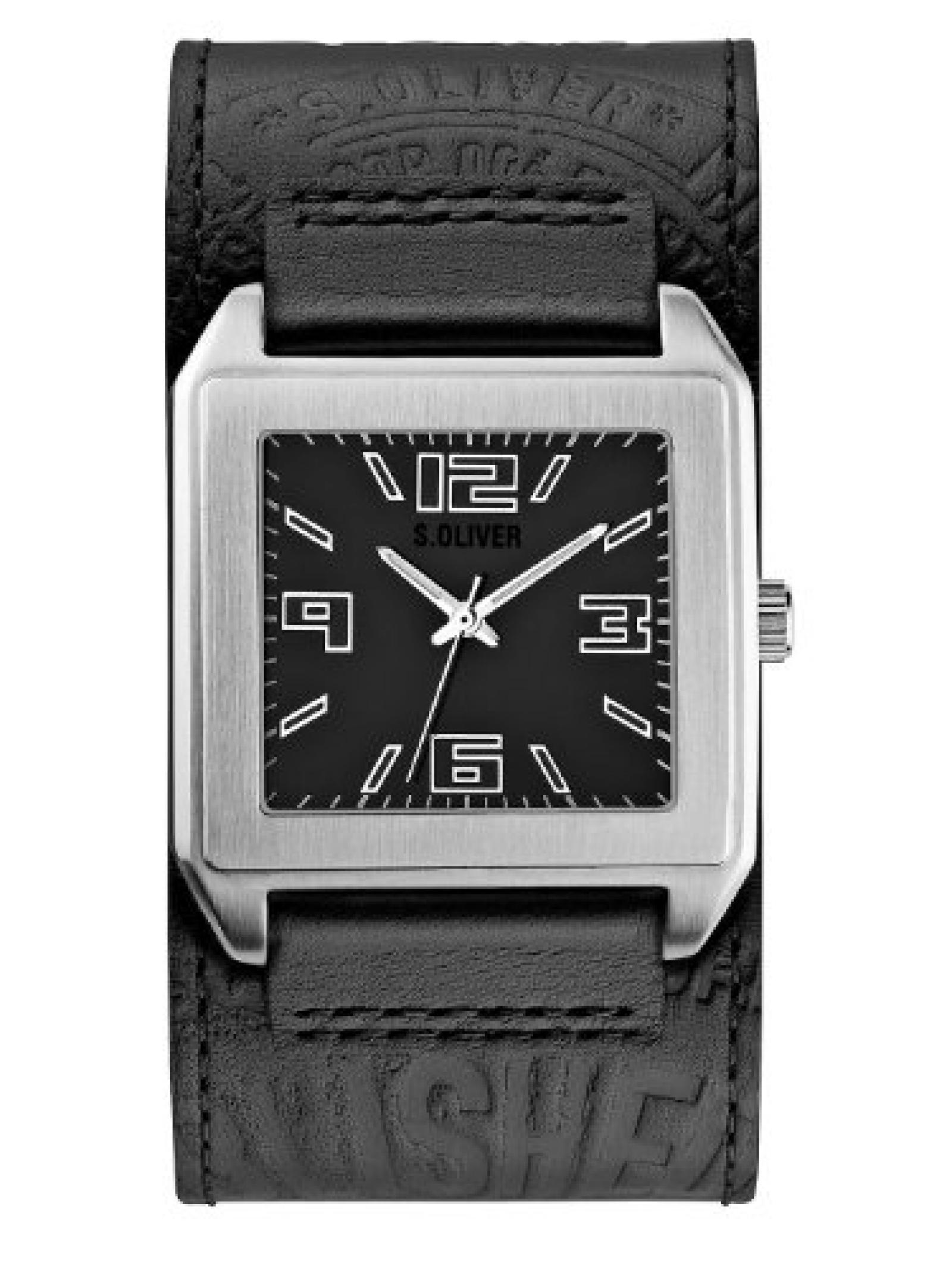 s.Oliver Herren-Armbanduhr SO-2007-LQ