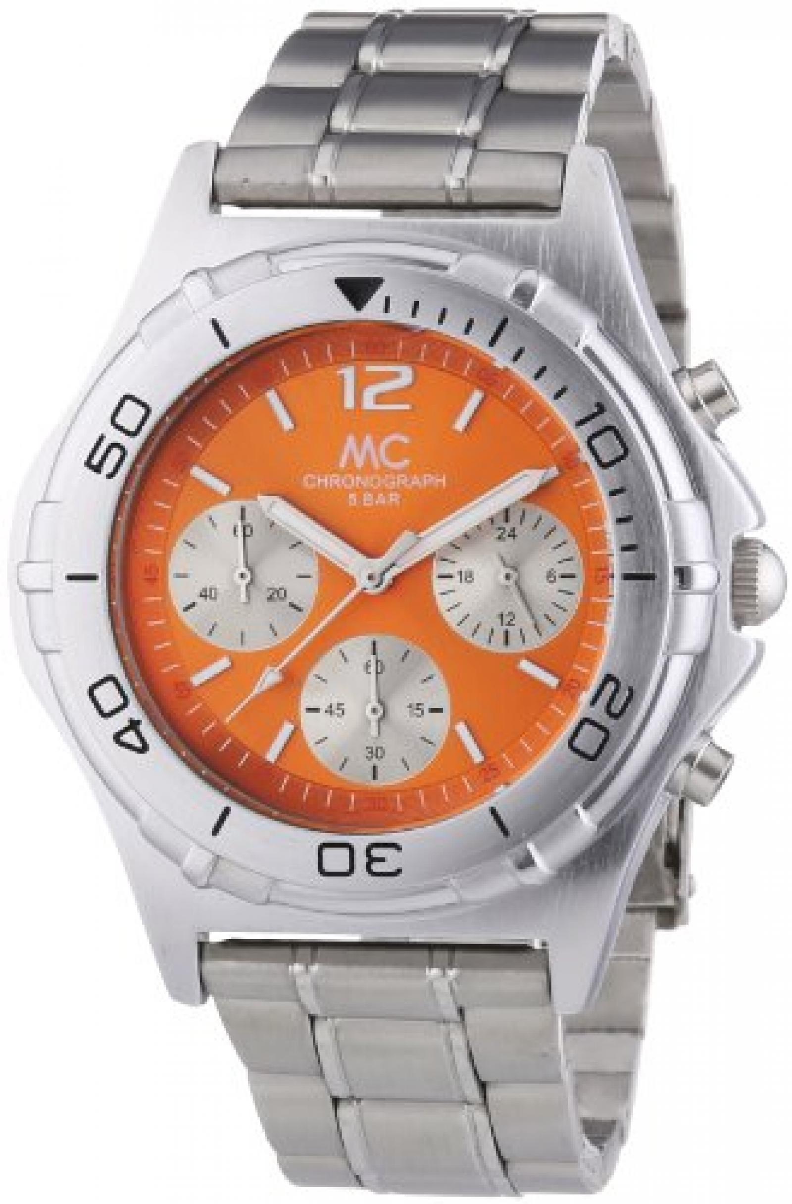 MC Timetrend Herren-Armbanduhr Chronograph Quarz Metallband 27357