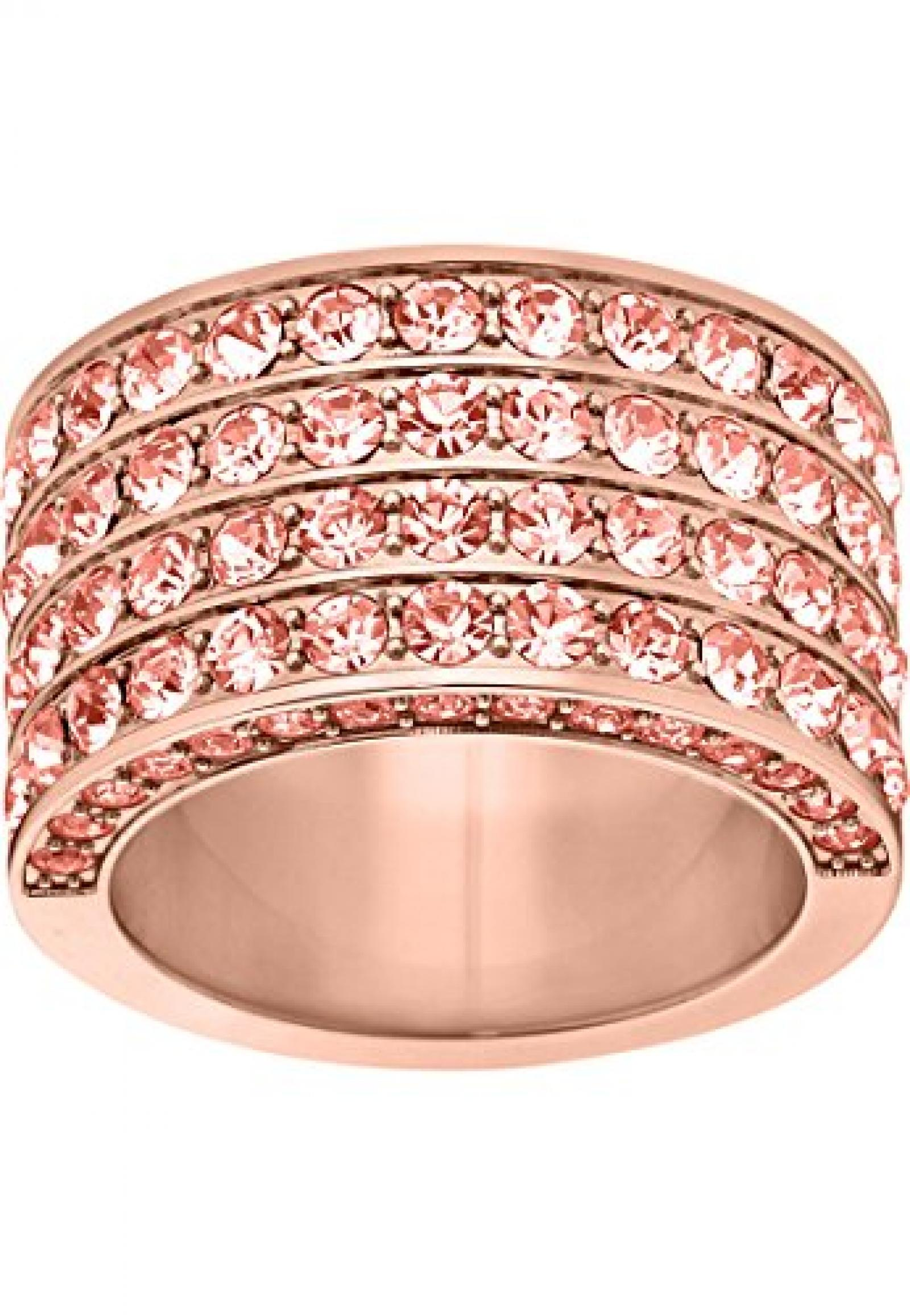JETTE Magic Passion Damen-Ring JETTE Magic Passion Pure Glam Metall 82 Kristall (roségold)