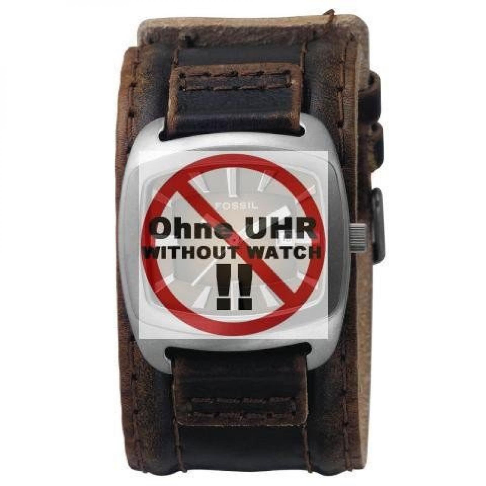 Fossil Uhrband Ersatzband Uhrenarmband Wechselarmband LB-JR9156 Original Lederband für JR 9156