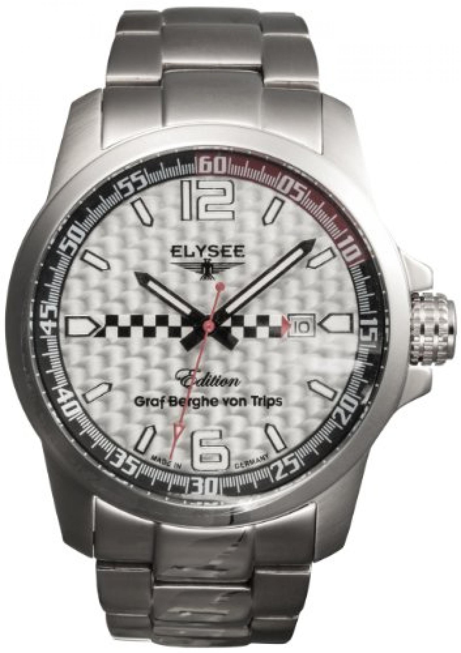 Elysee Herren-Armbanduhr Graf Berghe von Trips 80463S