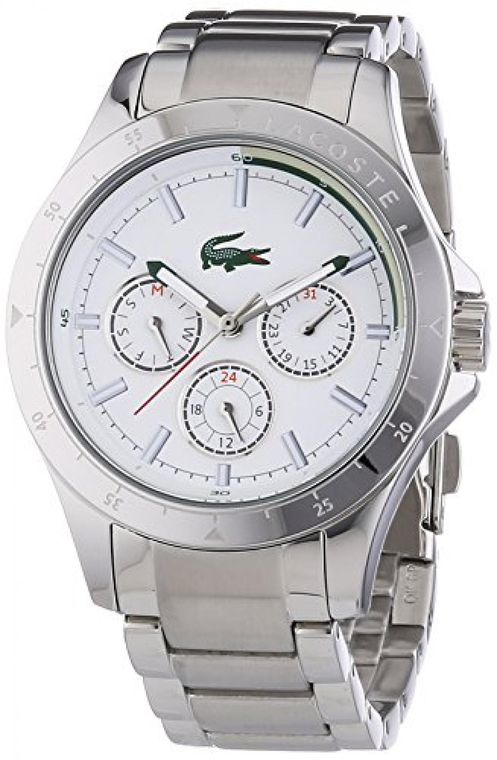 Lacoste Damen-Armbanduhr MACKAY Analog Quarz Edelstahl 2000840