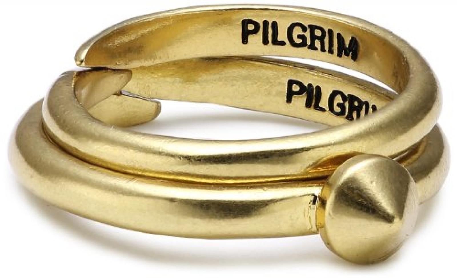 Pilgrim Jewelry Damen-Ring aus der Serie No limits vergoldet verstellbar 0.7 cm 211232004