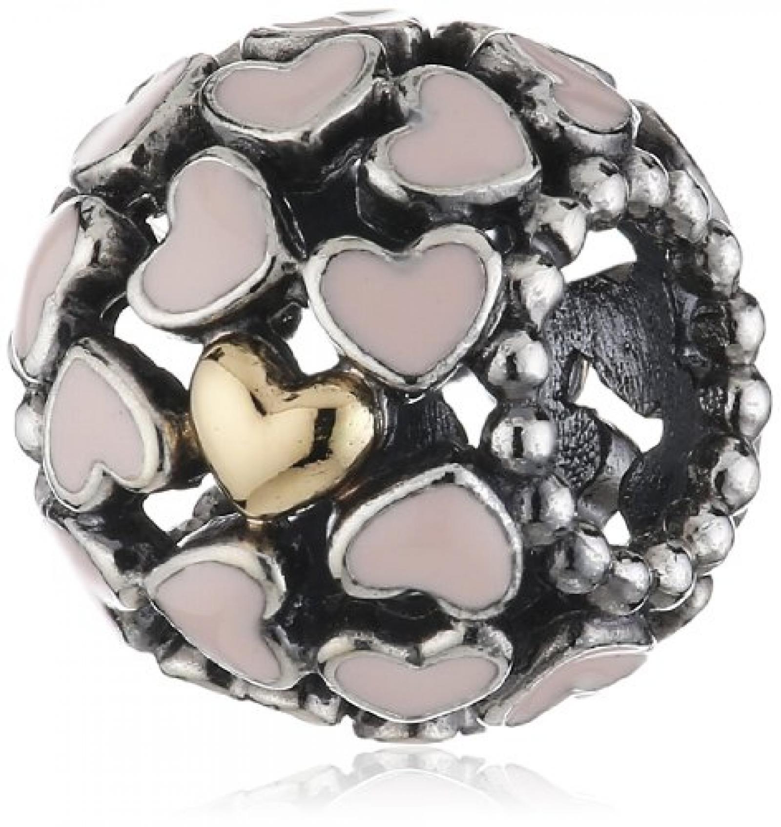 Pandora Charm Liebe im Überfluss mit 14-Karat Gold