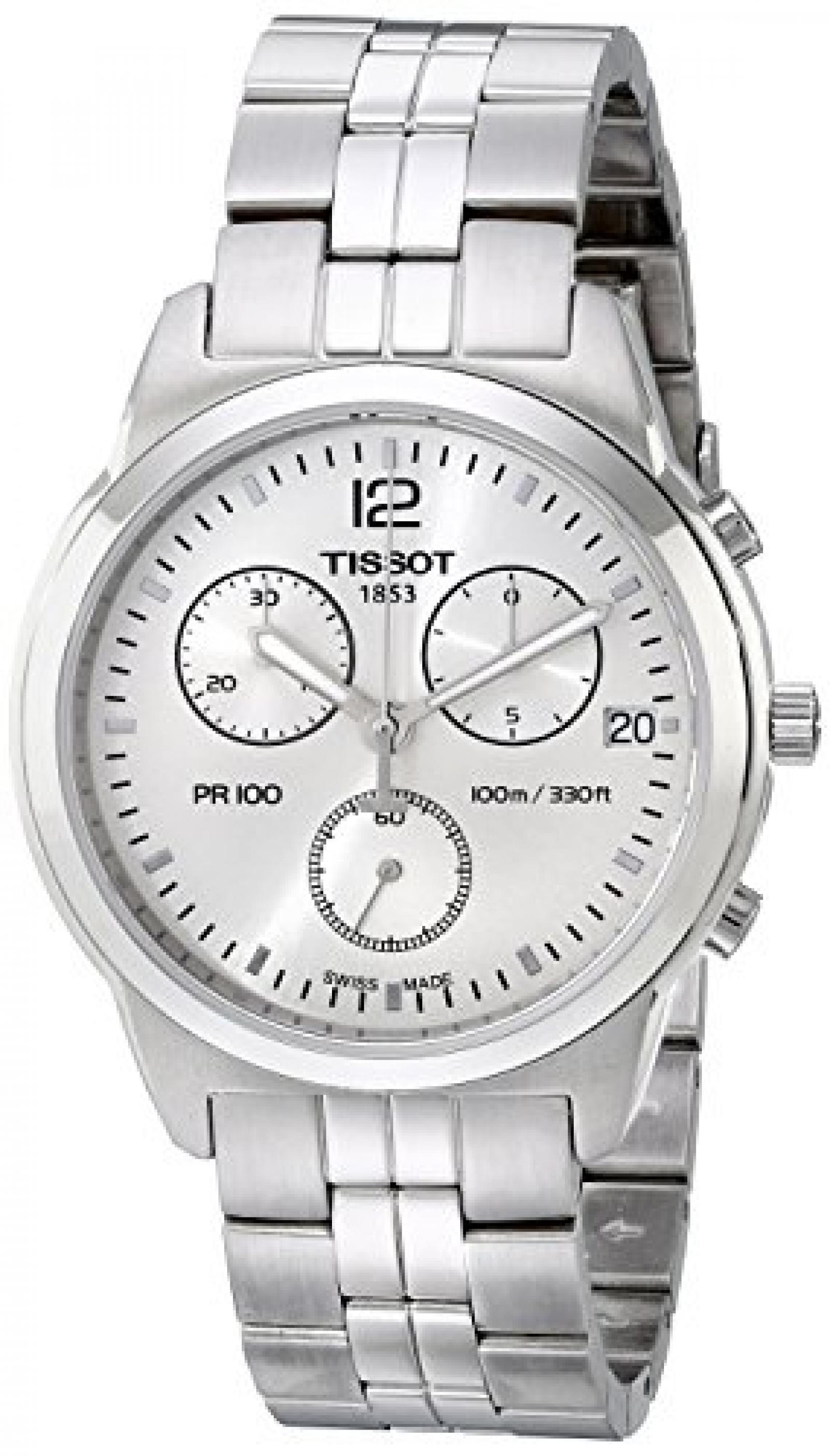 Herren-Armbanduhr XL Chronograph Quarz Edelstahl T049.417.11.037.00