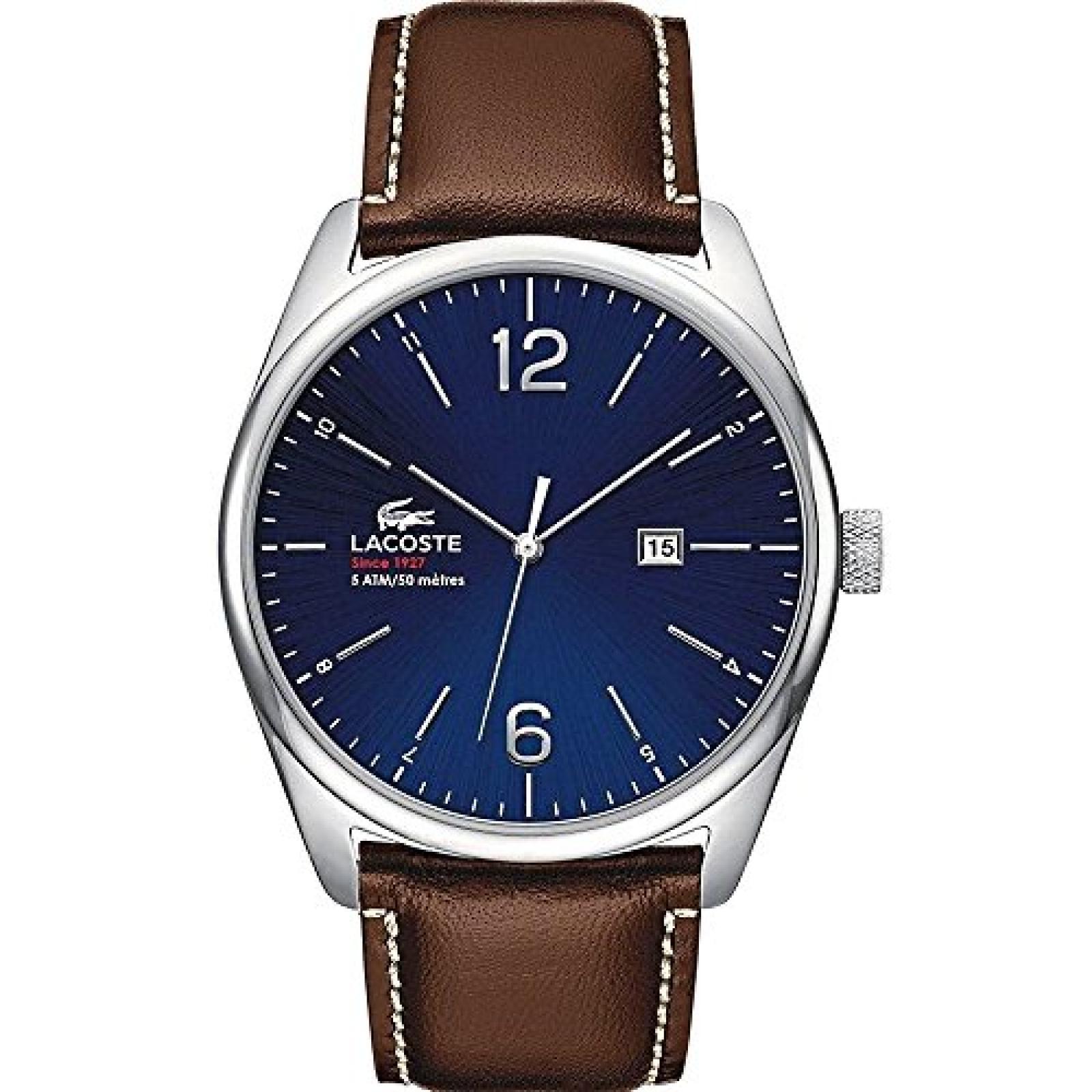 Lacoste Herren-Armbanduhr XL AUSTIN Analog Quarz Leder 2010749