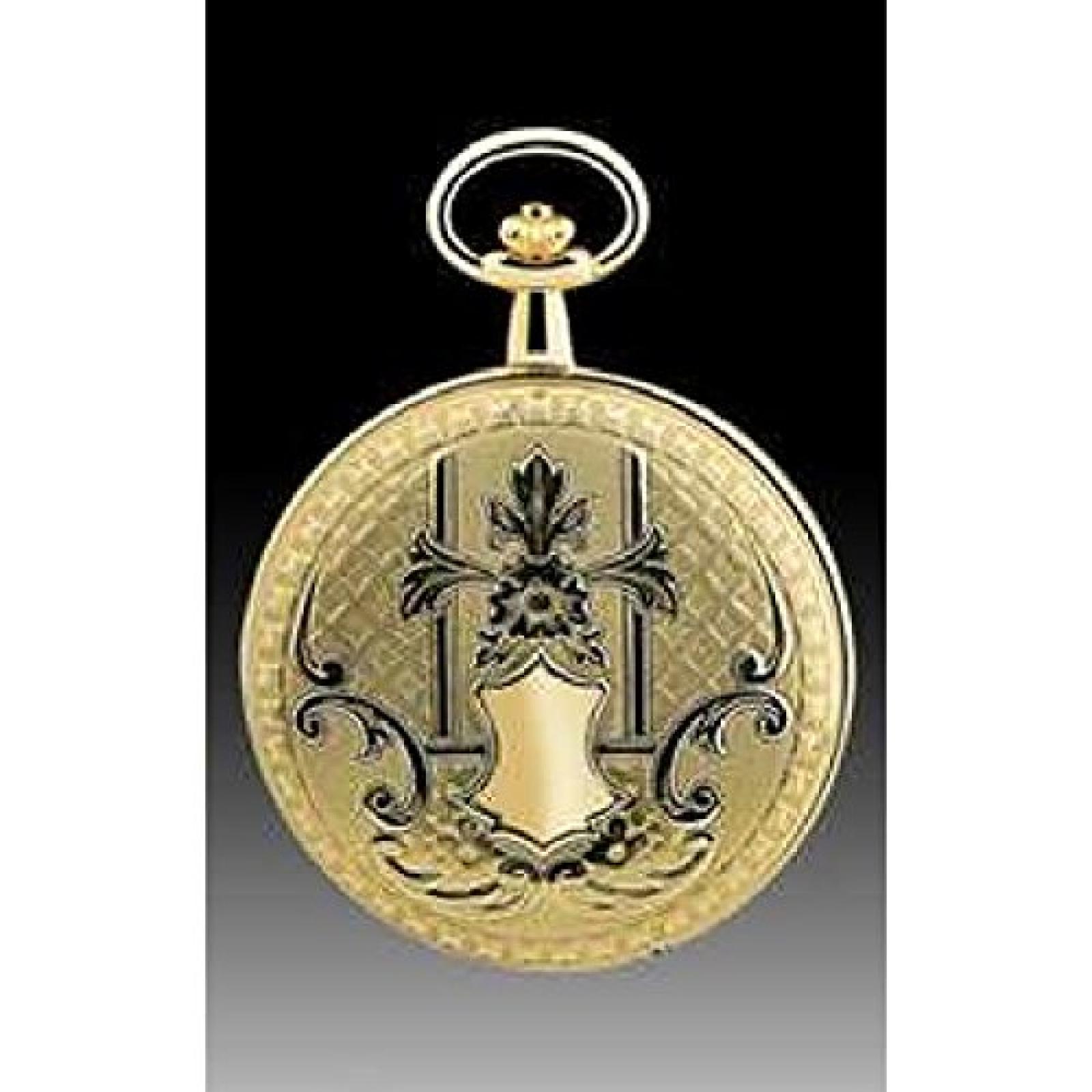 Lotus Taschenuhr 9016/L gelbgold plattiert