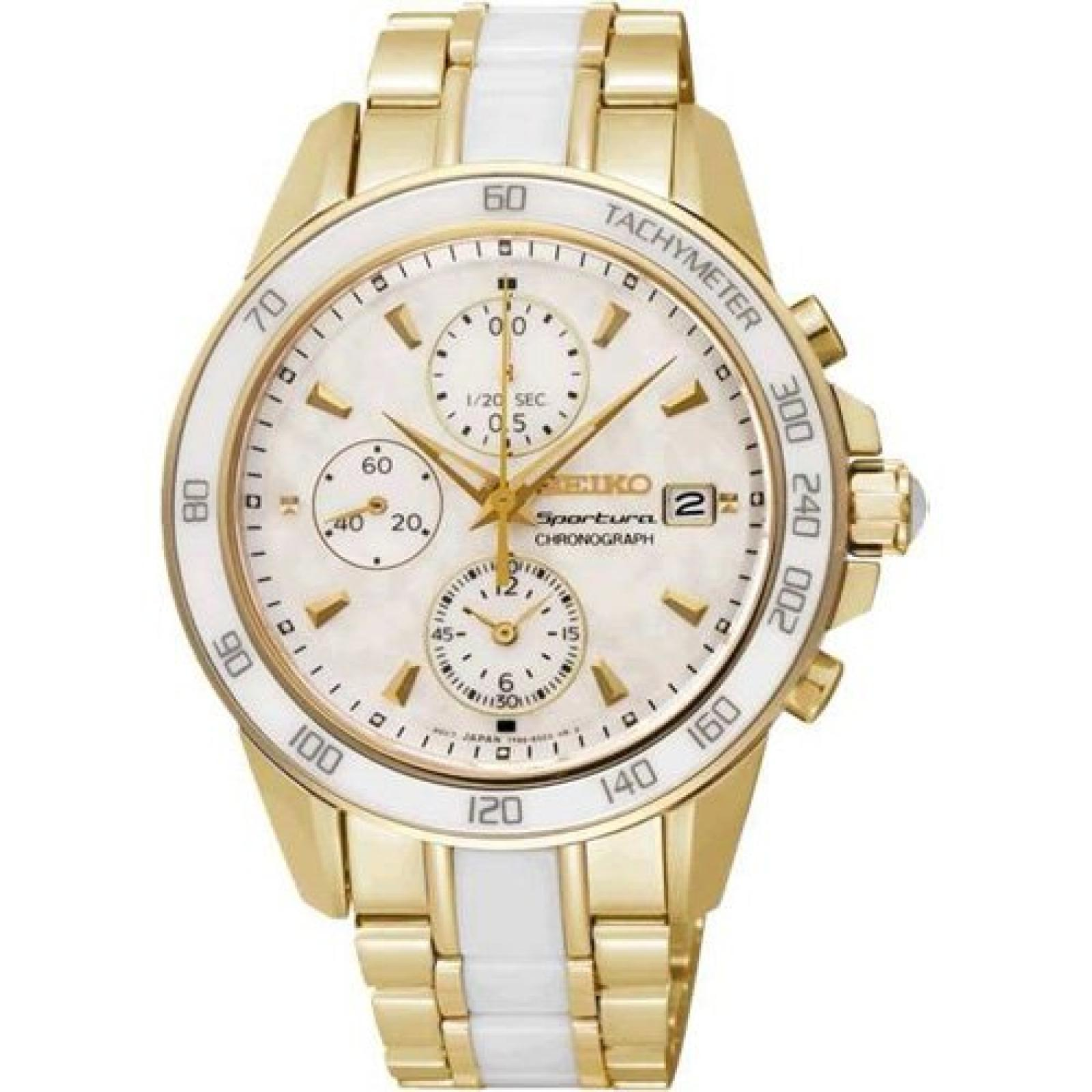 Uhr Seiko Sportura Sndx02p1 Damen Weiß