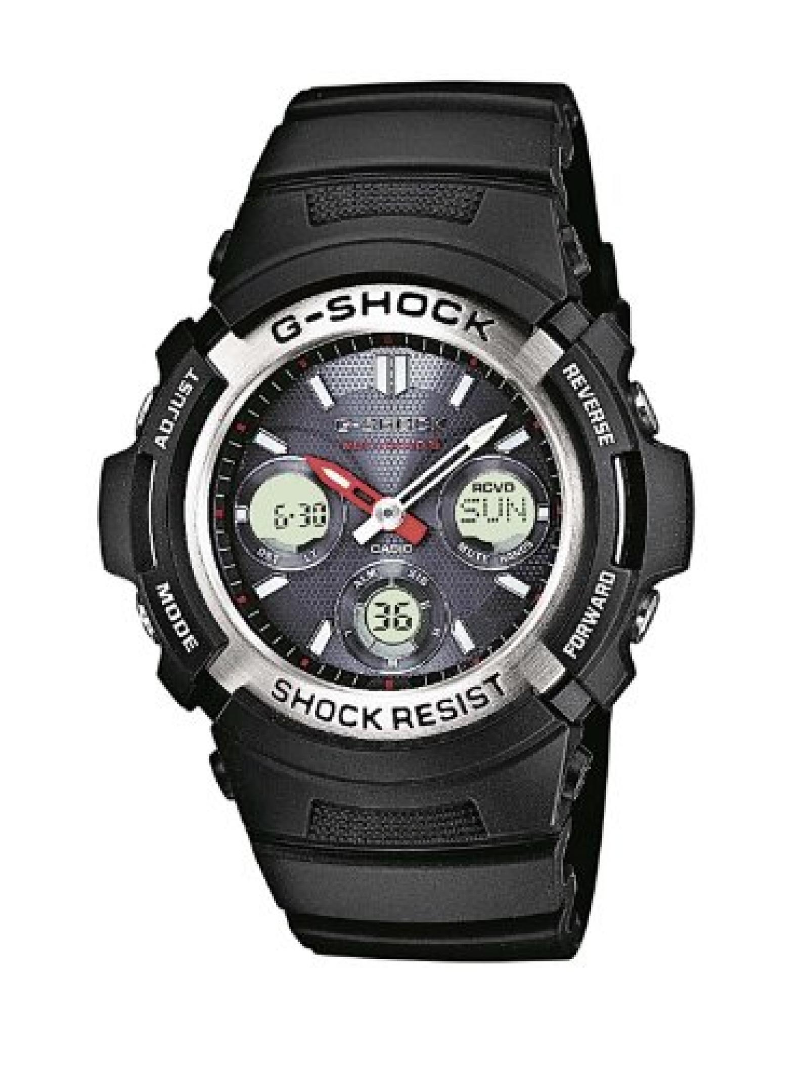 Casio Herren-Armbanduhr XL G-SHOCK Analog - Digital Resin AWG-M100-1AER