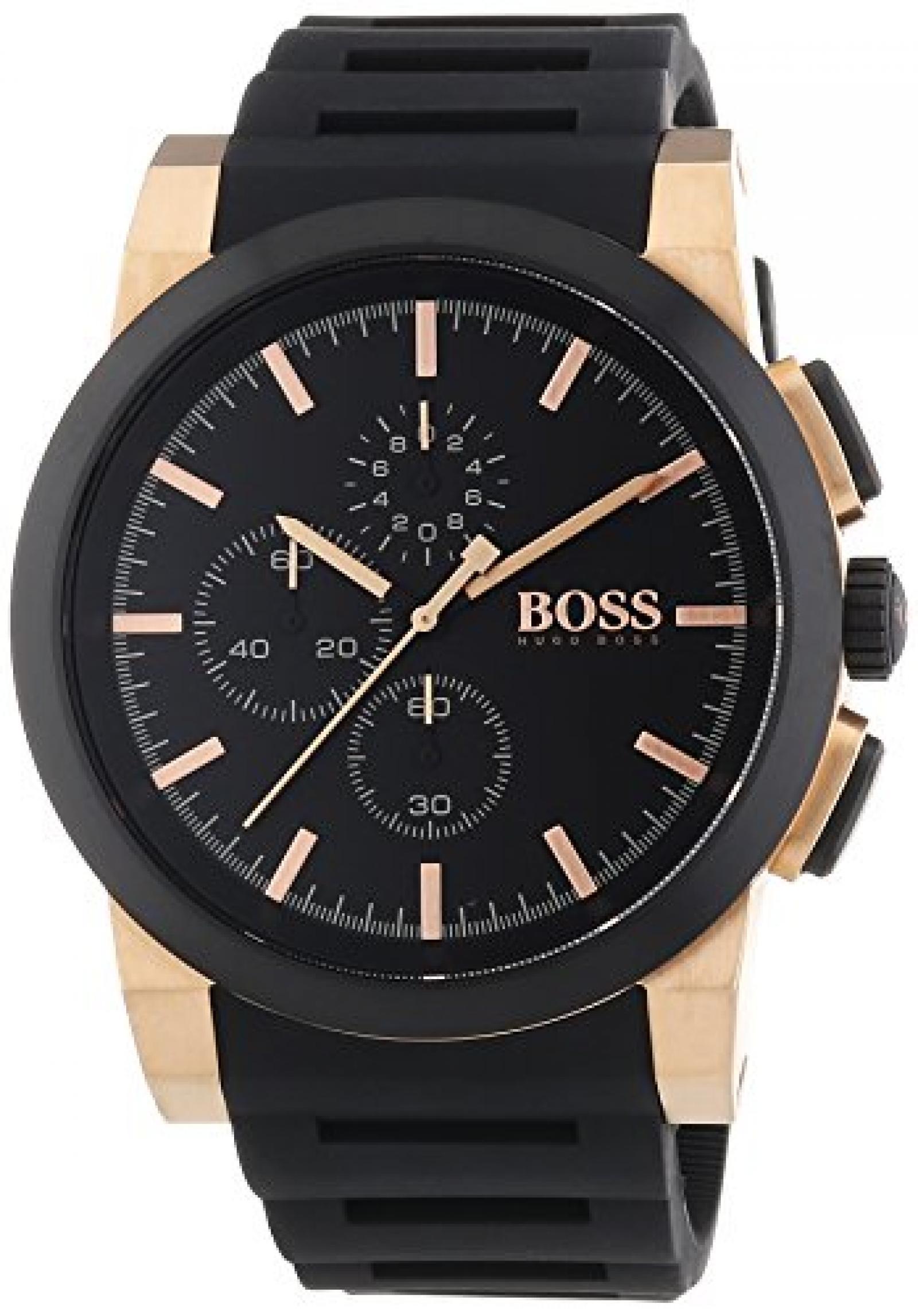 Hugo Boss Herren-Armbanduhr XL Neo Chronograph Quarz Silikon 1513030