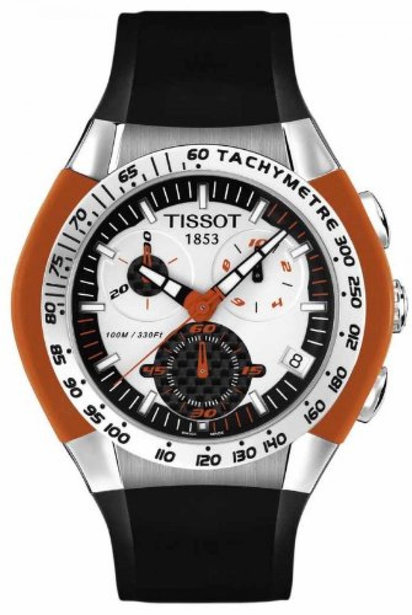 Tissot Herren-Armbanduhr T-Tracx T0104171703102