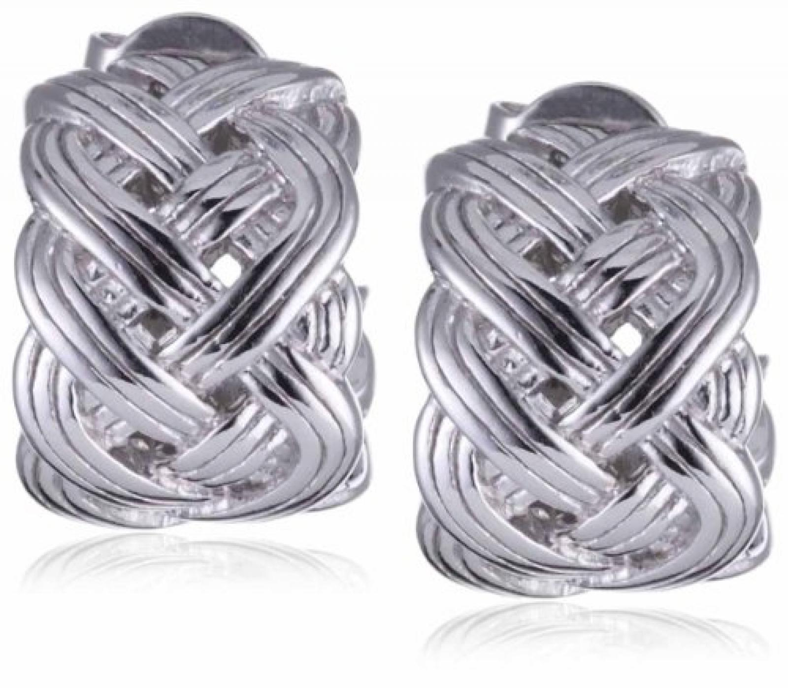 Esprit Ohrringe PURE ROPE  925 Sterling Silber S.ESER91125A000