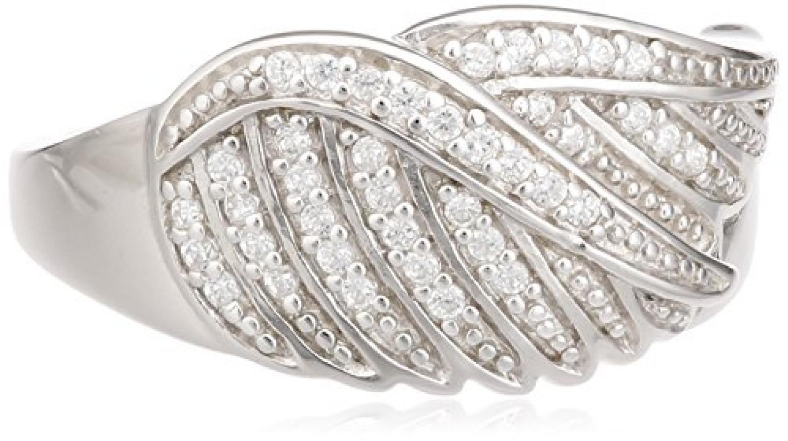 Celesta Damen-Ring 925 Sterling Silber Zirkonia weiß W: 393270094L