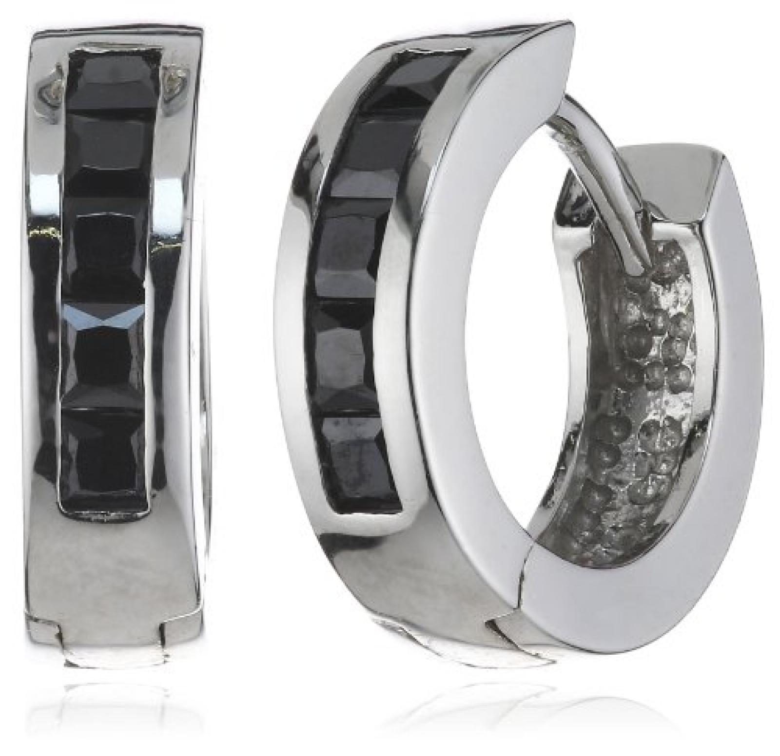 Amor Jewelry Damen-Creolen 925 Sterling Silber 437134