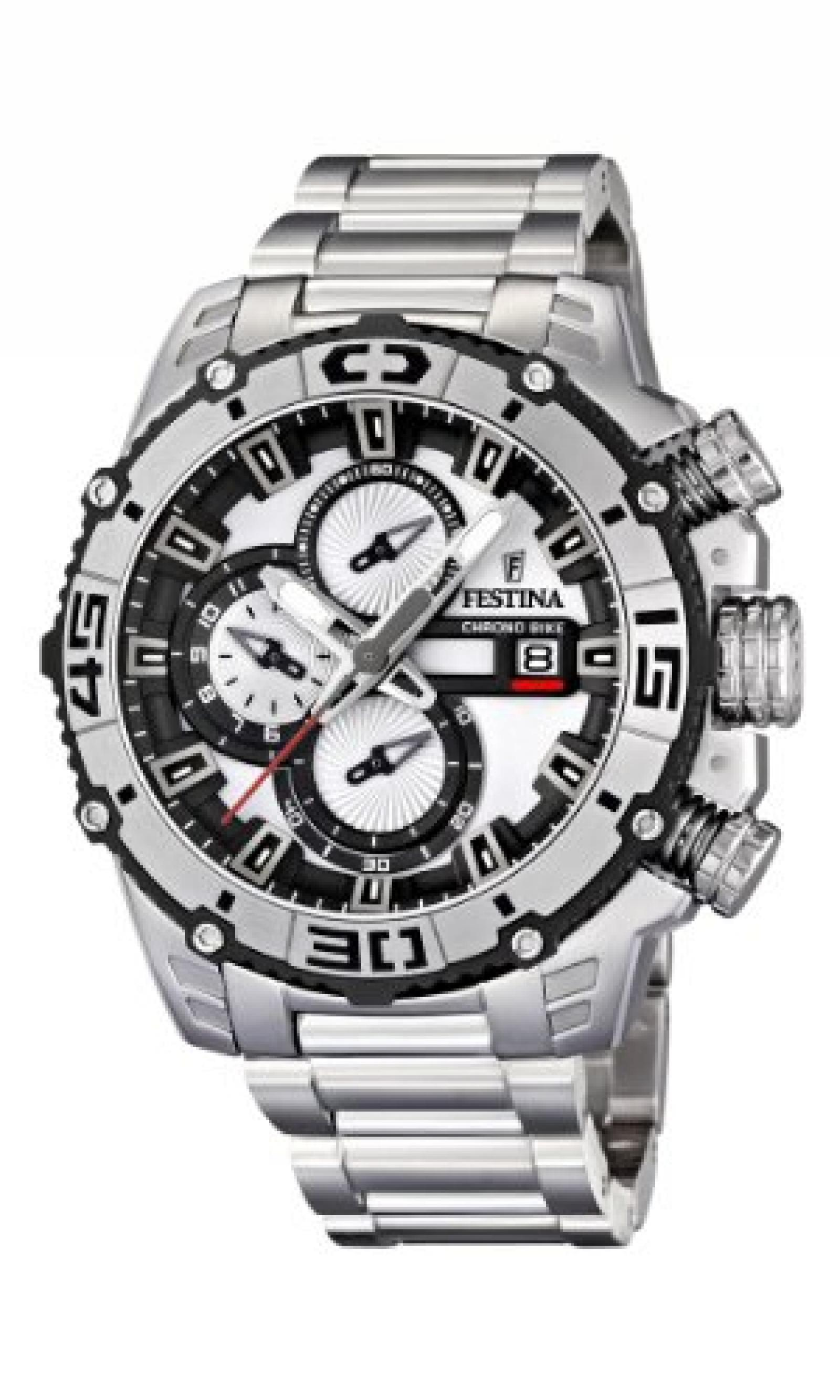Festina Herren-Armbanduhr Tour Chrono Bike 2012 Analog Quarz F16599/1