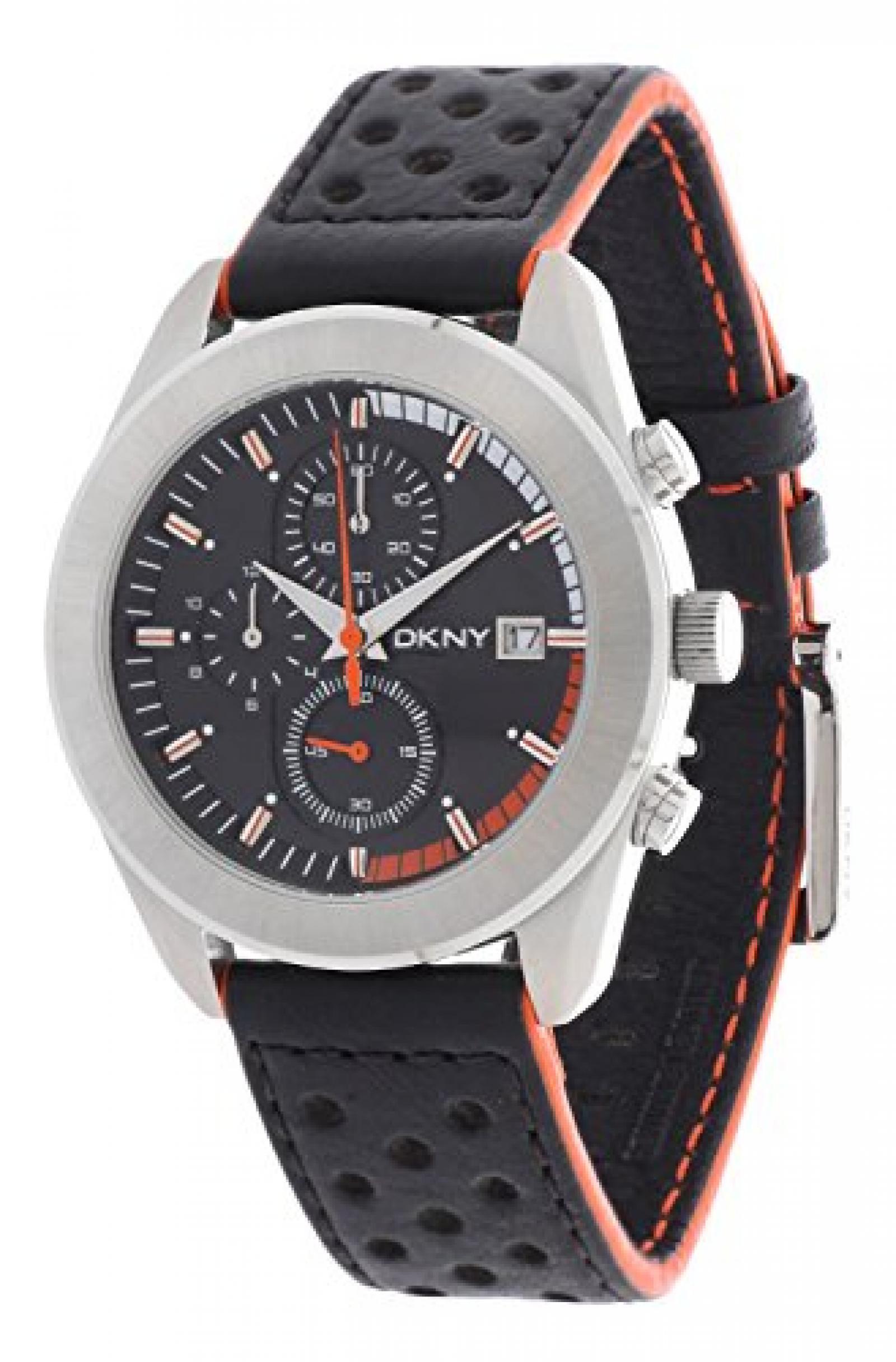 DKNY Herren Armbanduhr Essentials Schwarz NY1284