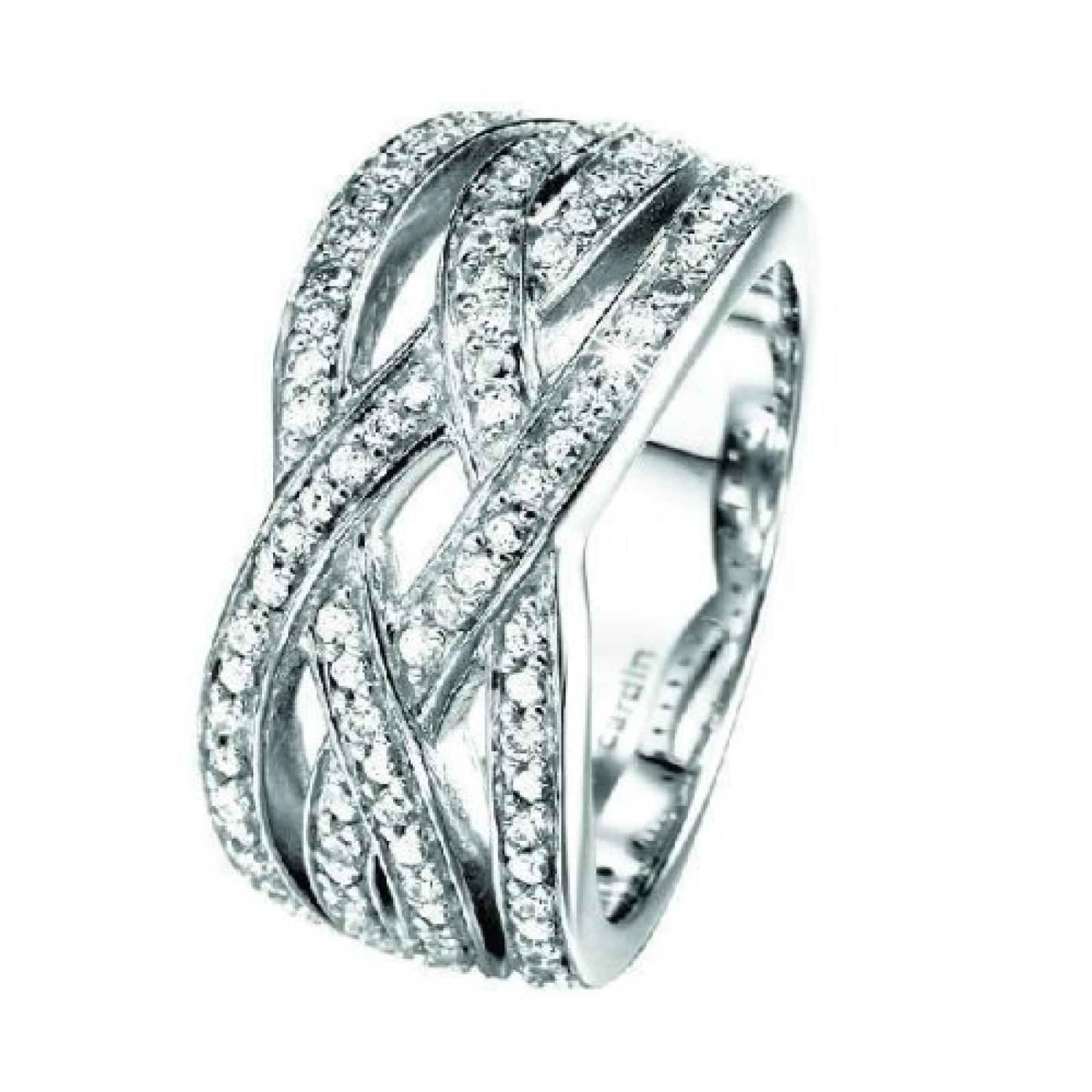 Pierre Cardin Damen-Ring Enlace Sterling-Silber 925 PCRG90246A