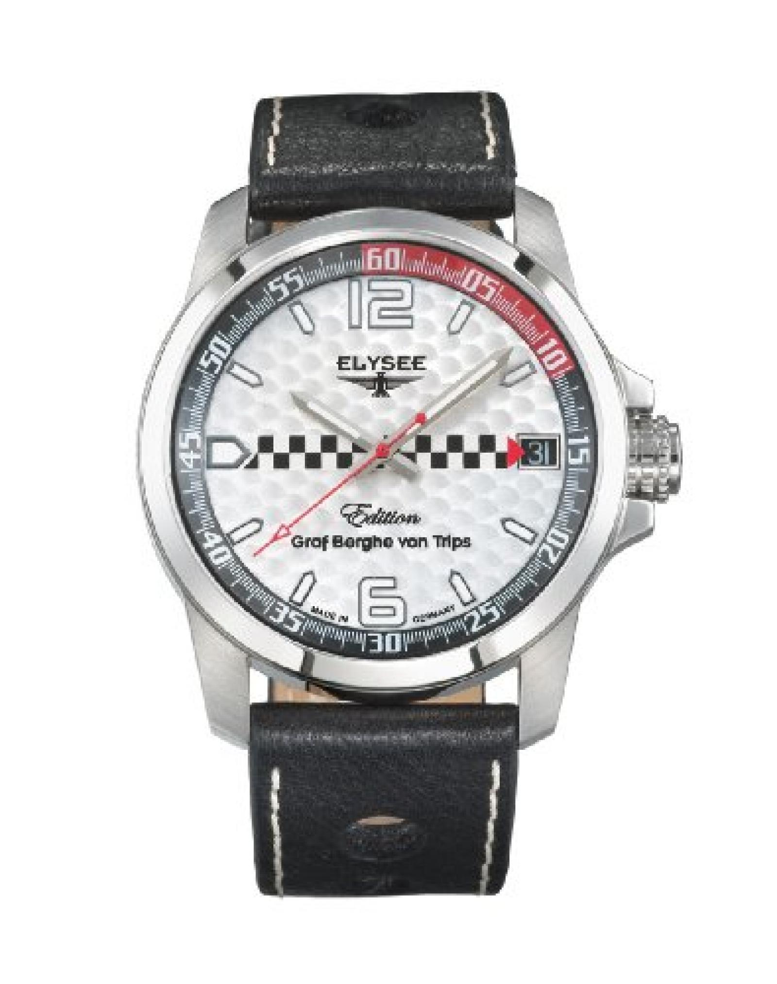 Elysee Herren-Armbanduhr Graf Berghe von Trips 80463