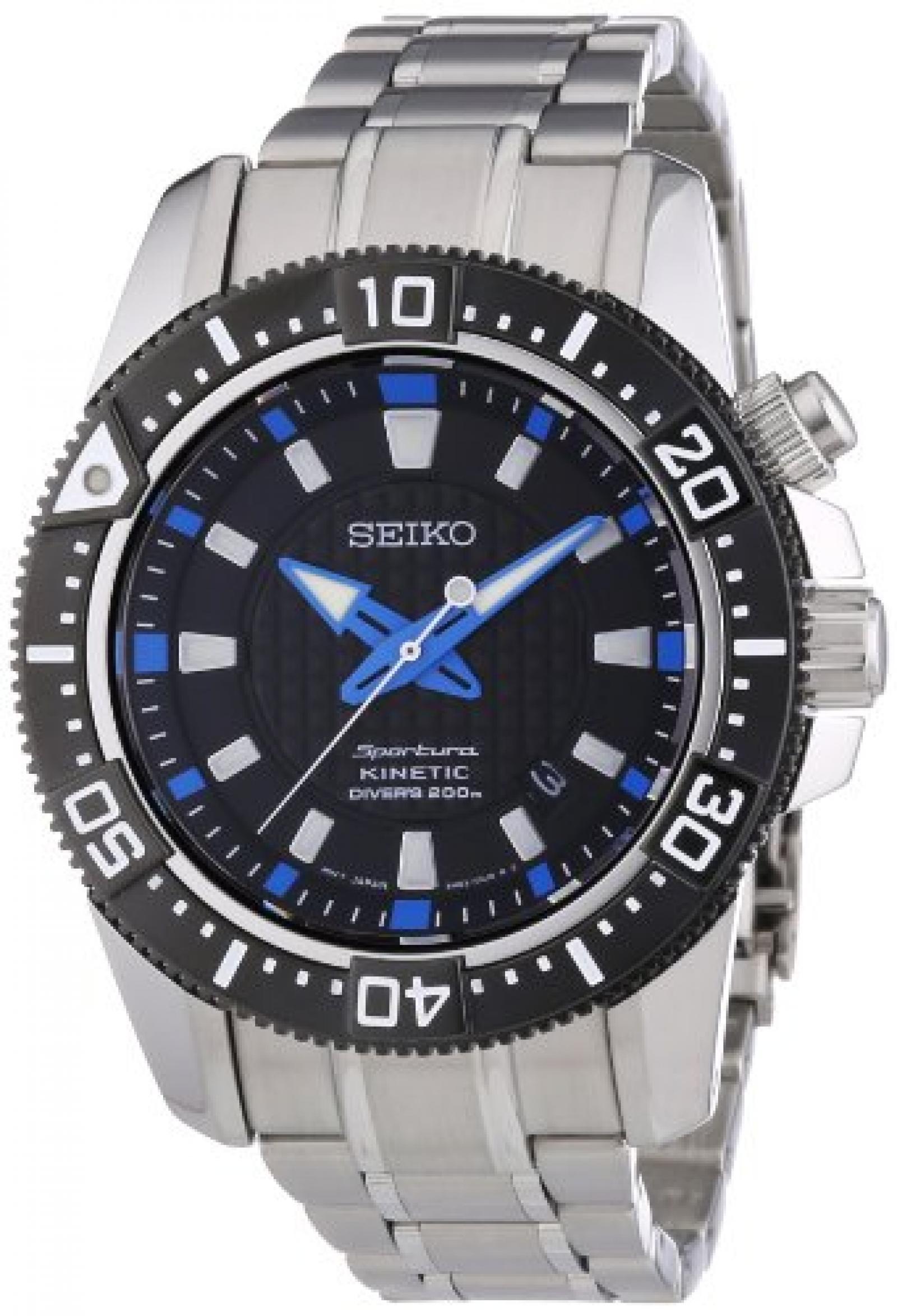 SEIKO Sportura Kinetic Diver`s Herrenuhr SKA561P1