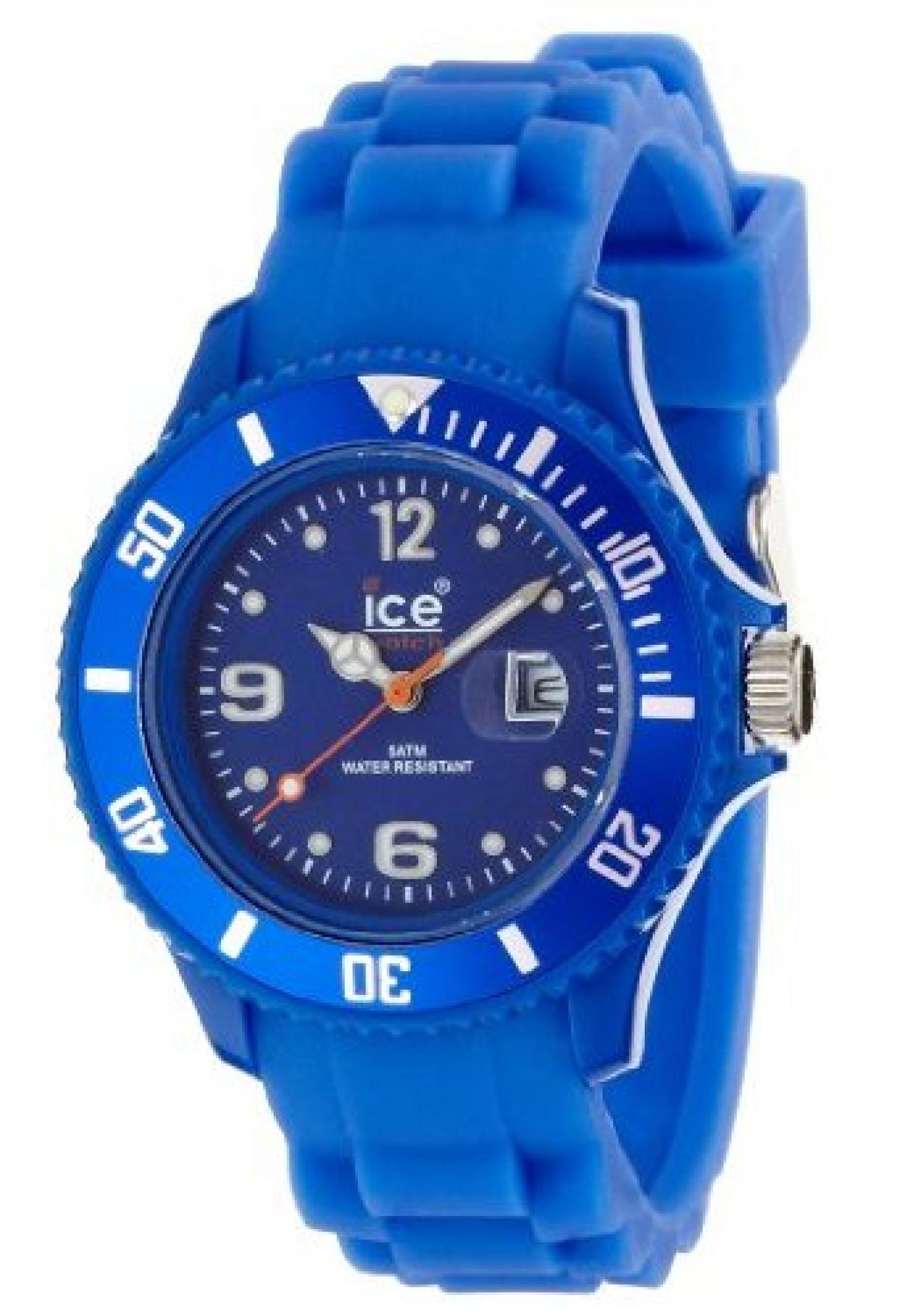 ice watch armbanduhr sili forever blau si be s b00e3bdmdo. Black Bedroom Furniture Sets. Home Design Ideas