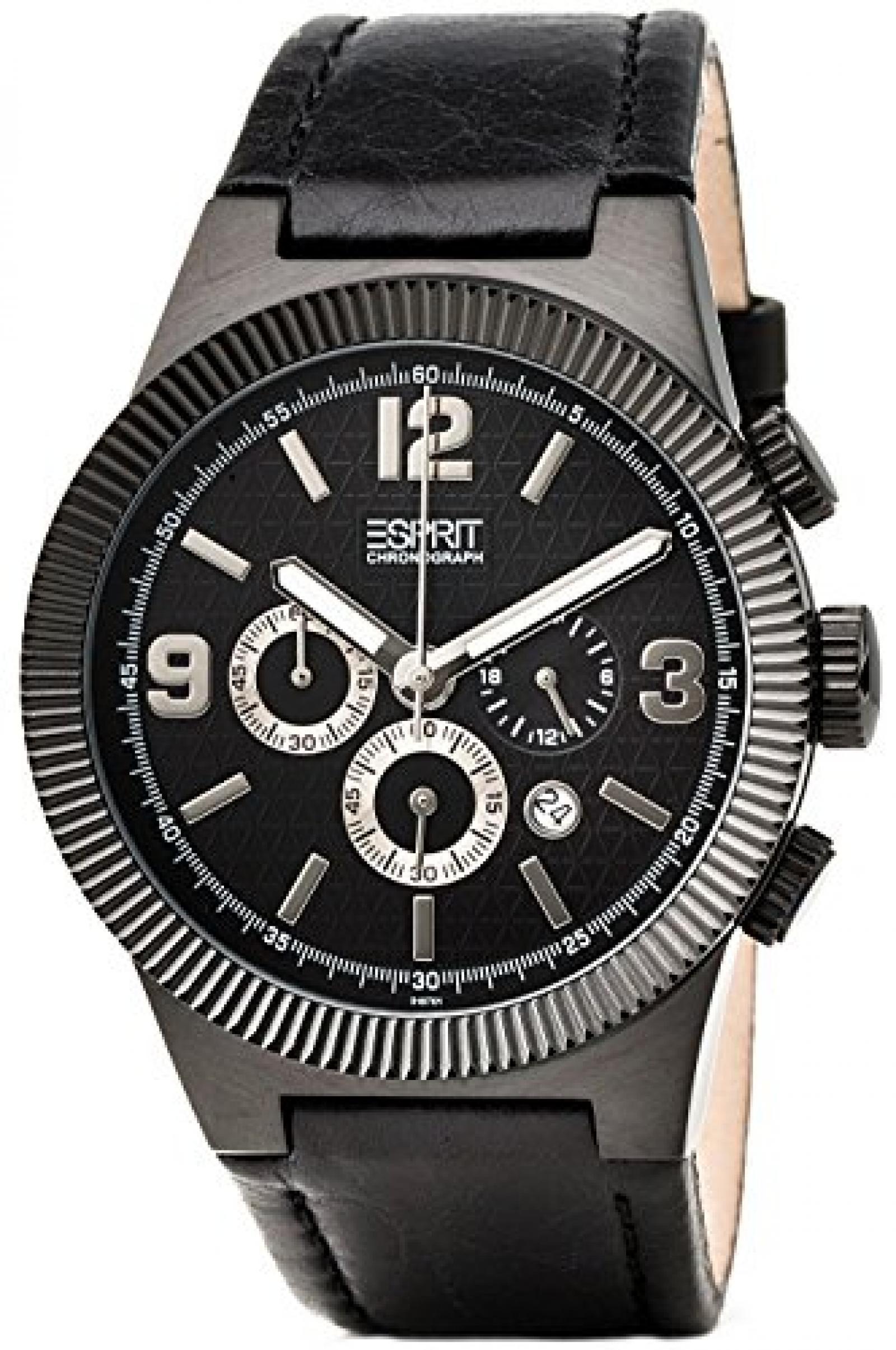 Esprit Herren-Armbanduhr superkeen night ES101671001