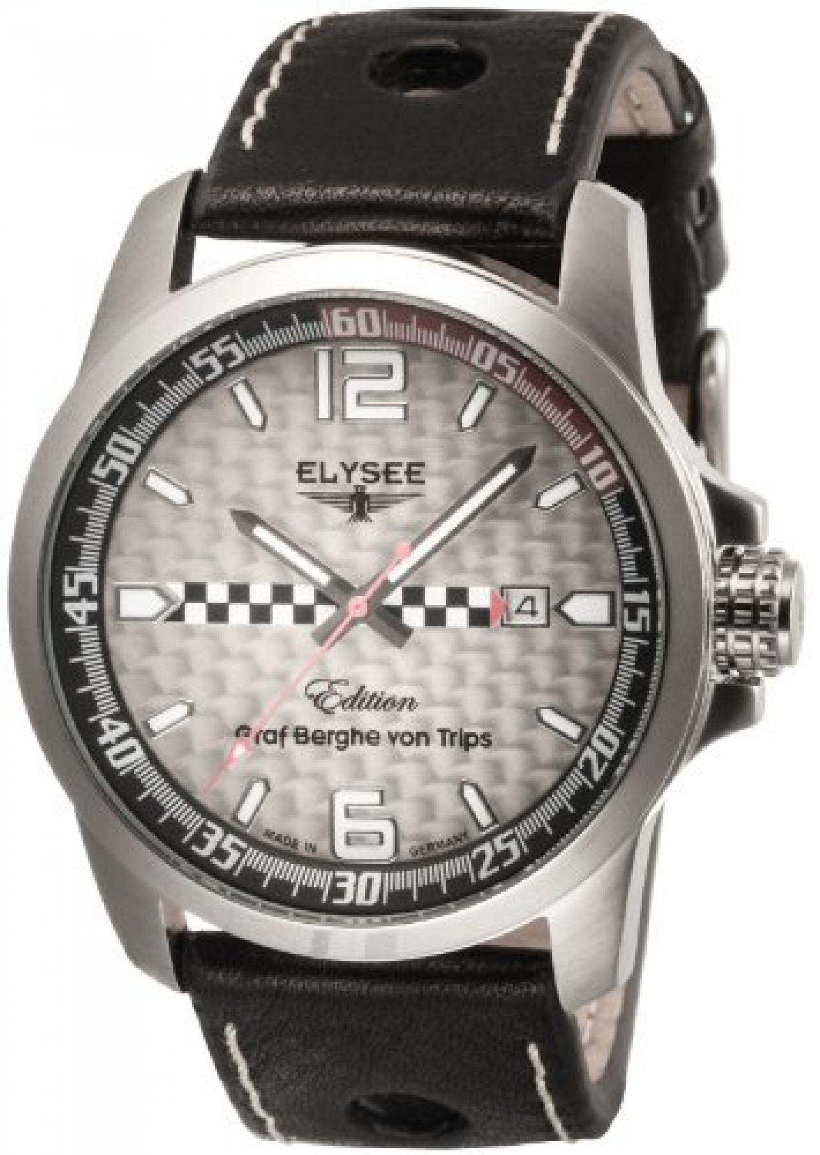 Elysee Herren-Armbanduhr Graf Berghe von Trips 80464