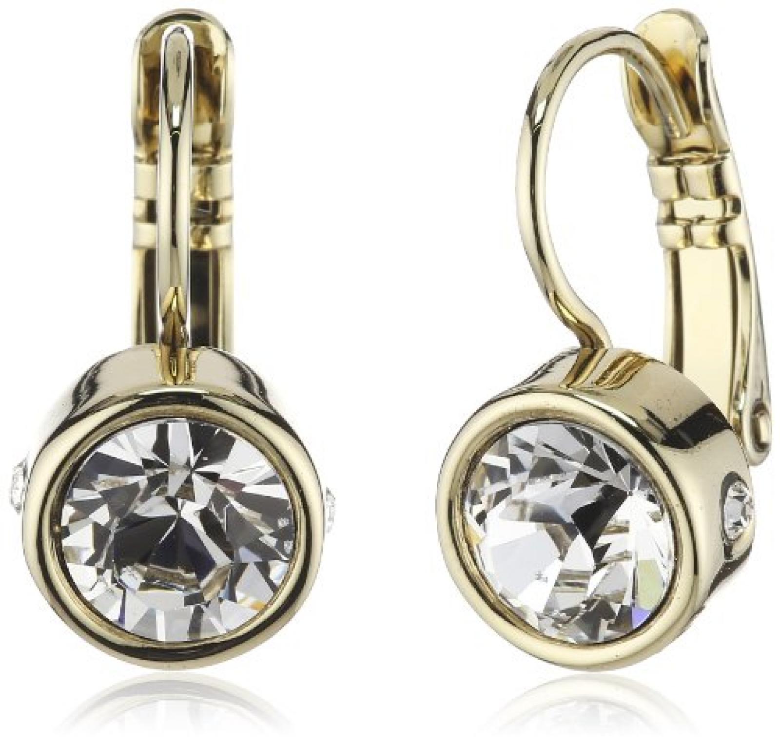 Dyrberg/Kern Damen-Ohrhänger Vergoldetes Metall Madu sg crystal 334721