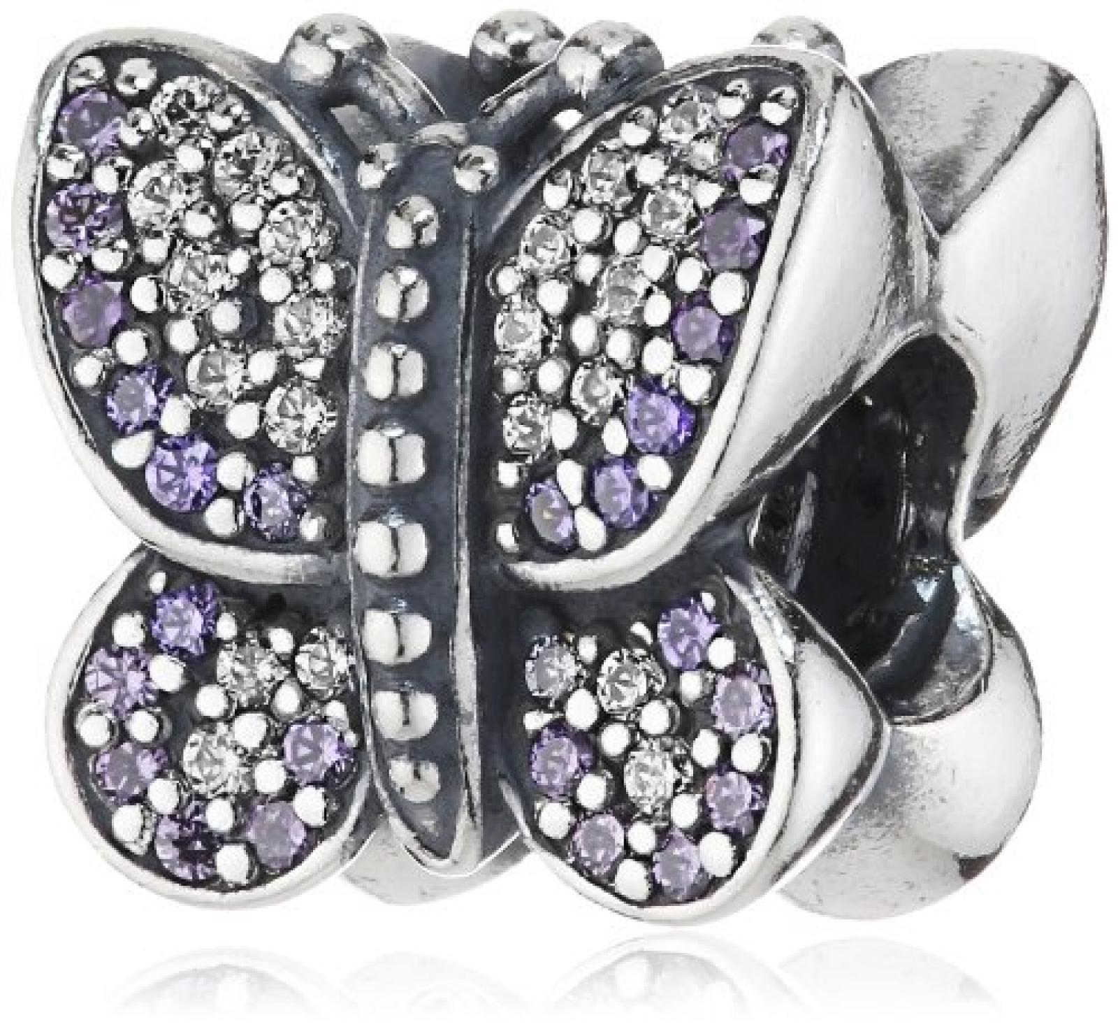 Pandora Charm Funkelnder Schmetterling
