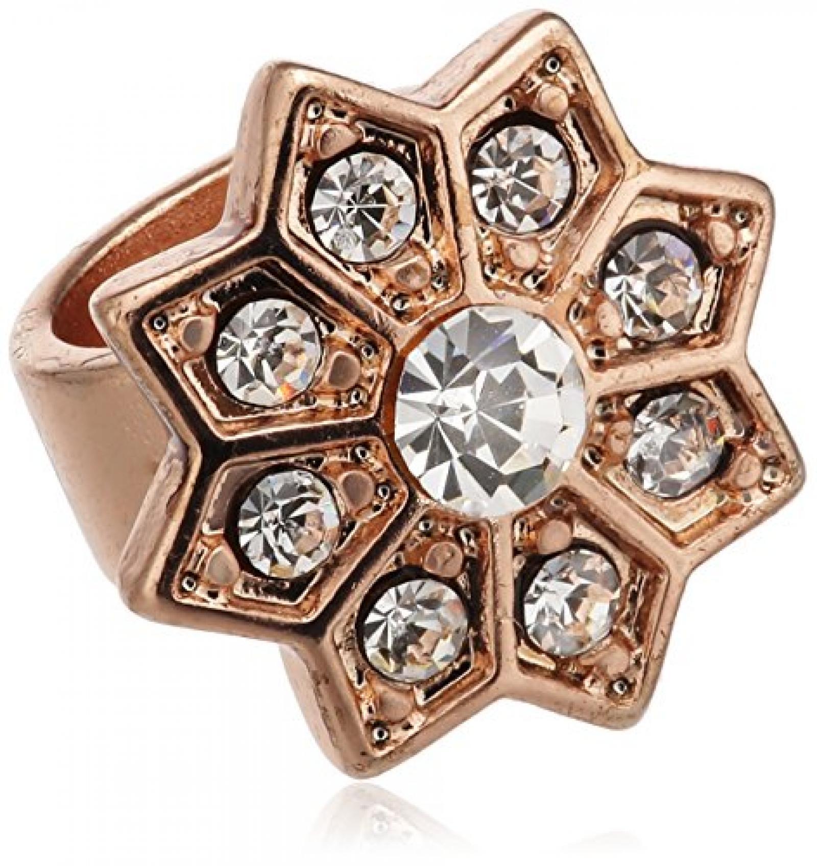 Pilgrim Damen-Anhänger aus der Serie Charming RoséGold beschichtet Kristall 42122-4010