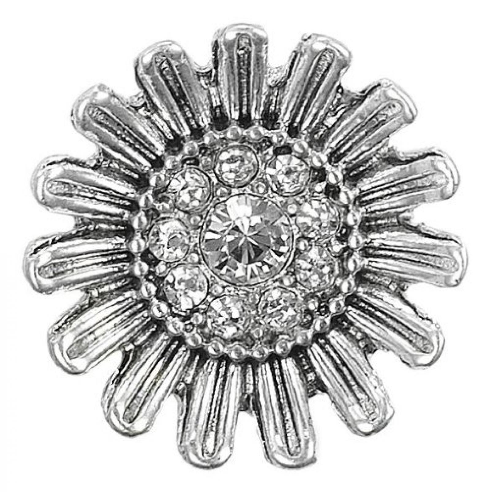 Pilgrim Damen-Anhänger charming versilbert kristall 42114-6007