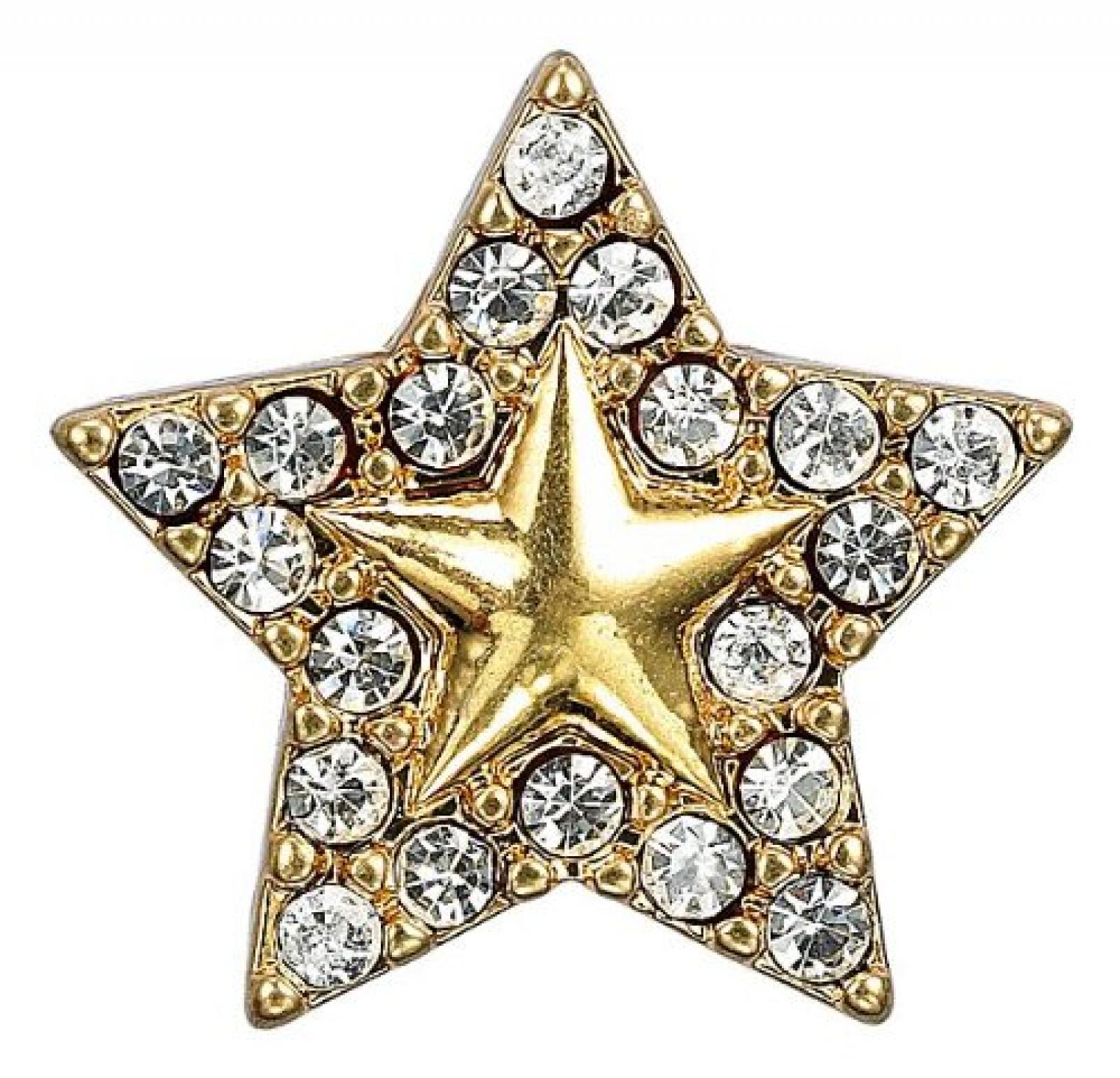 Pilgrim Damen-Anhänger Charming vergoldet kristall 42121-2044