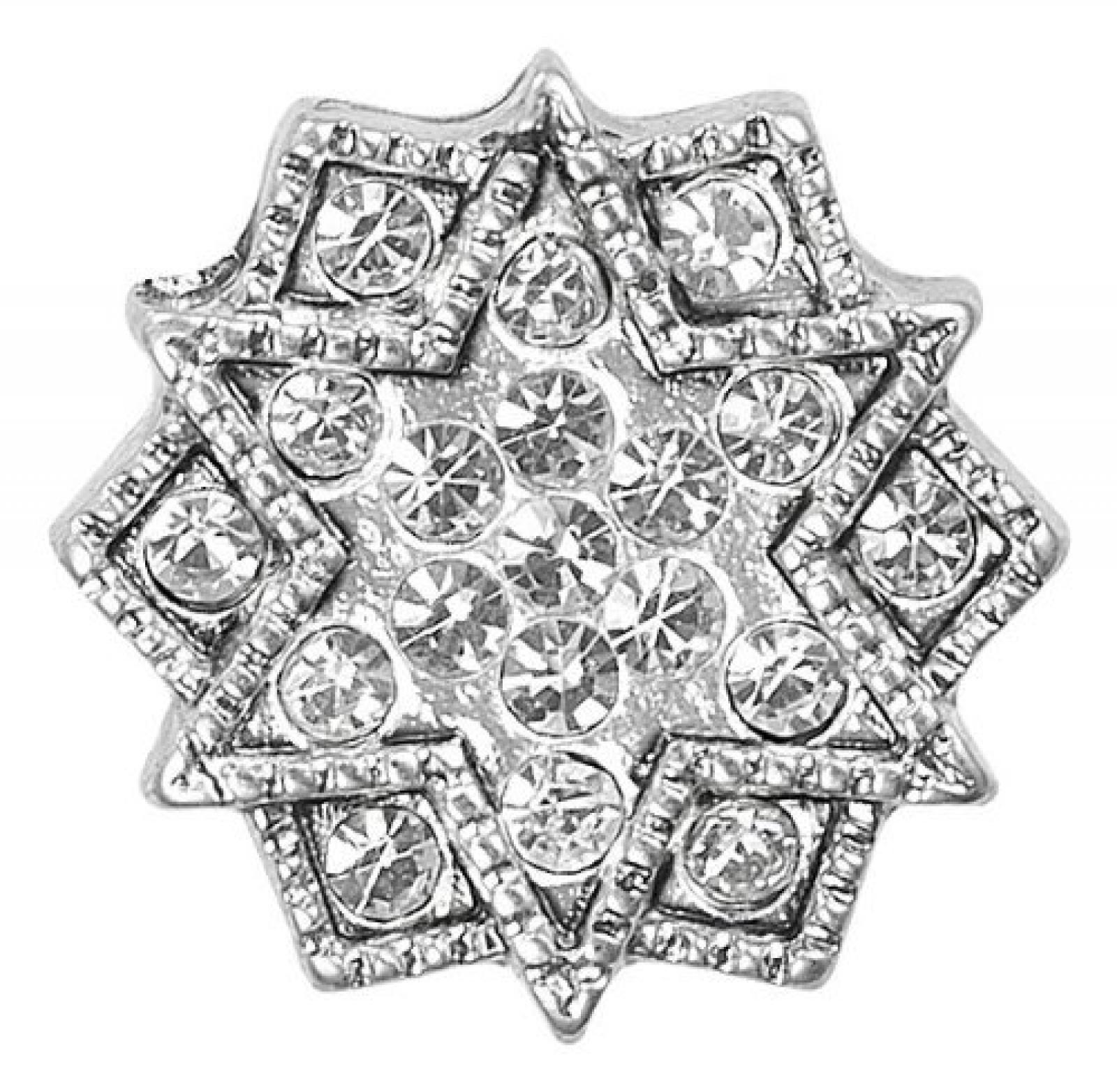 Pilgrim Damen-Anhänger charming versilbert kristall 42114-6018